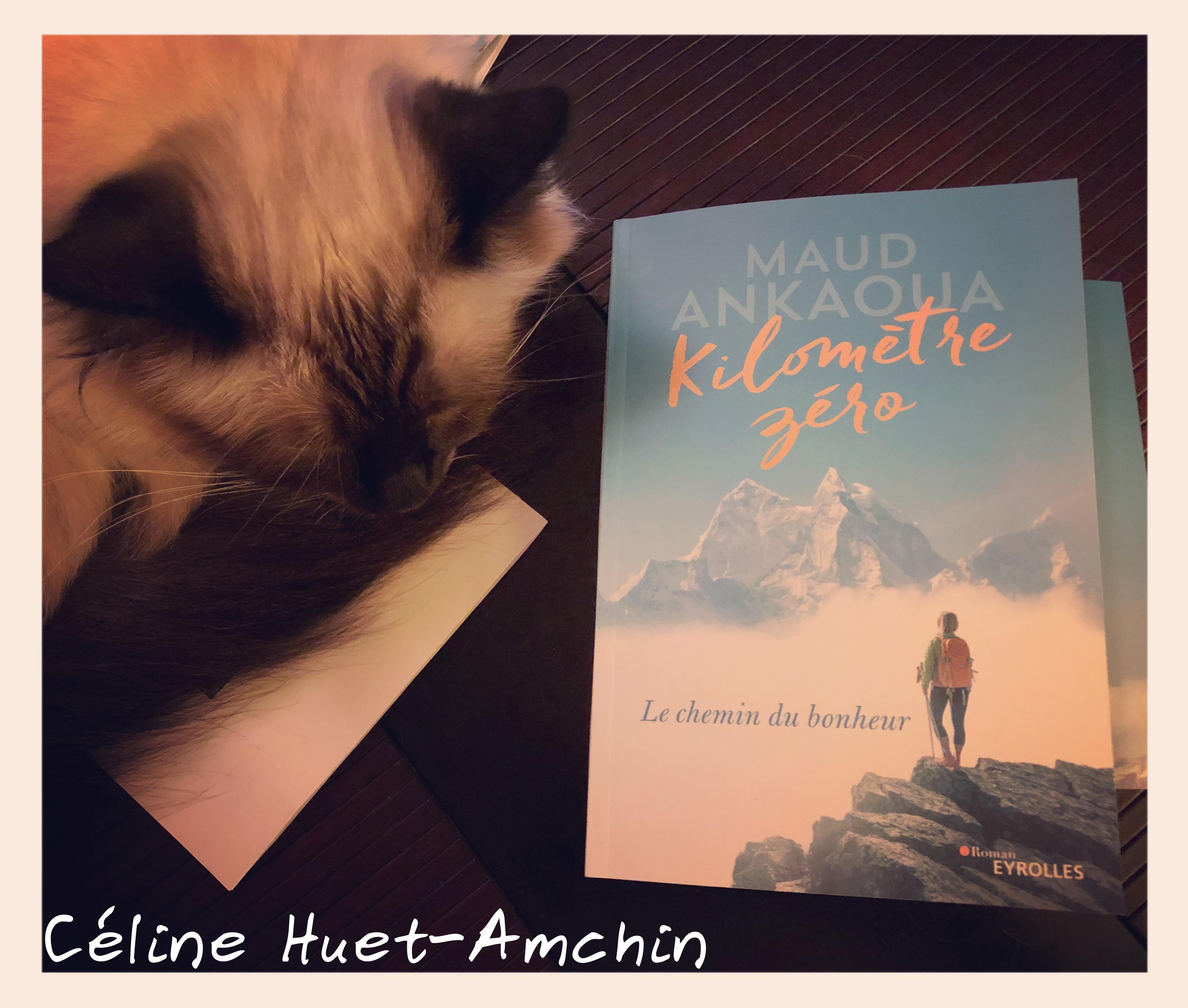 Kilomètre zéro le chemin du bonheur Maud Ankaoua Editions Eyrolles