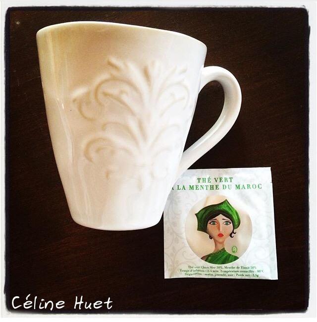 Thé vert à la menthe Les jardins d'Osmane