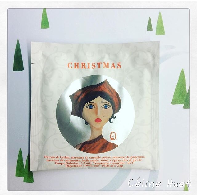 Christmas Tea Les jardins d'Osmane