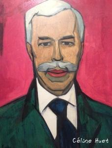 Portrait de Chtchoukine Xan Krohn Exposition Icônes de l'Art Moderne Fondation Louis Vuitton Paris