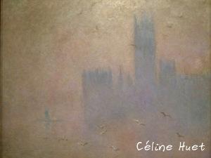 Les Mouettes Le Parlement de Londres Claude Monet Icônes de l'Art Moderne Fondation Louis Vuitton Paris