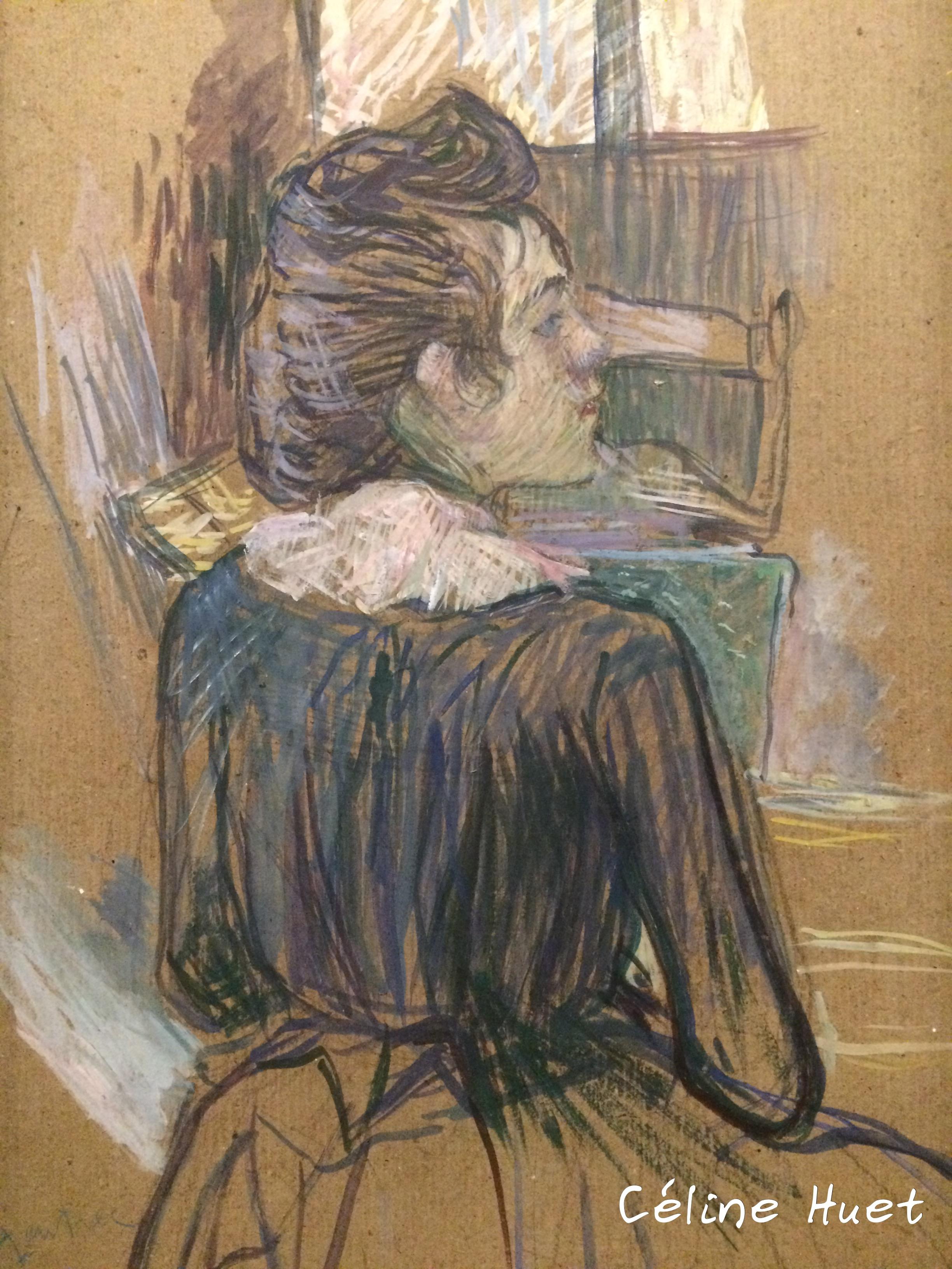 Femme à la fenêtre Toulouse Lautrec Icônes de l'Art Moderne Fondation Louis Vuitton Paris