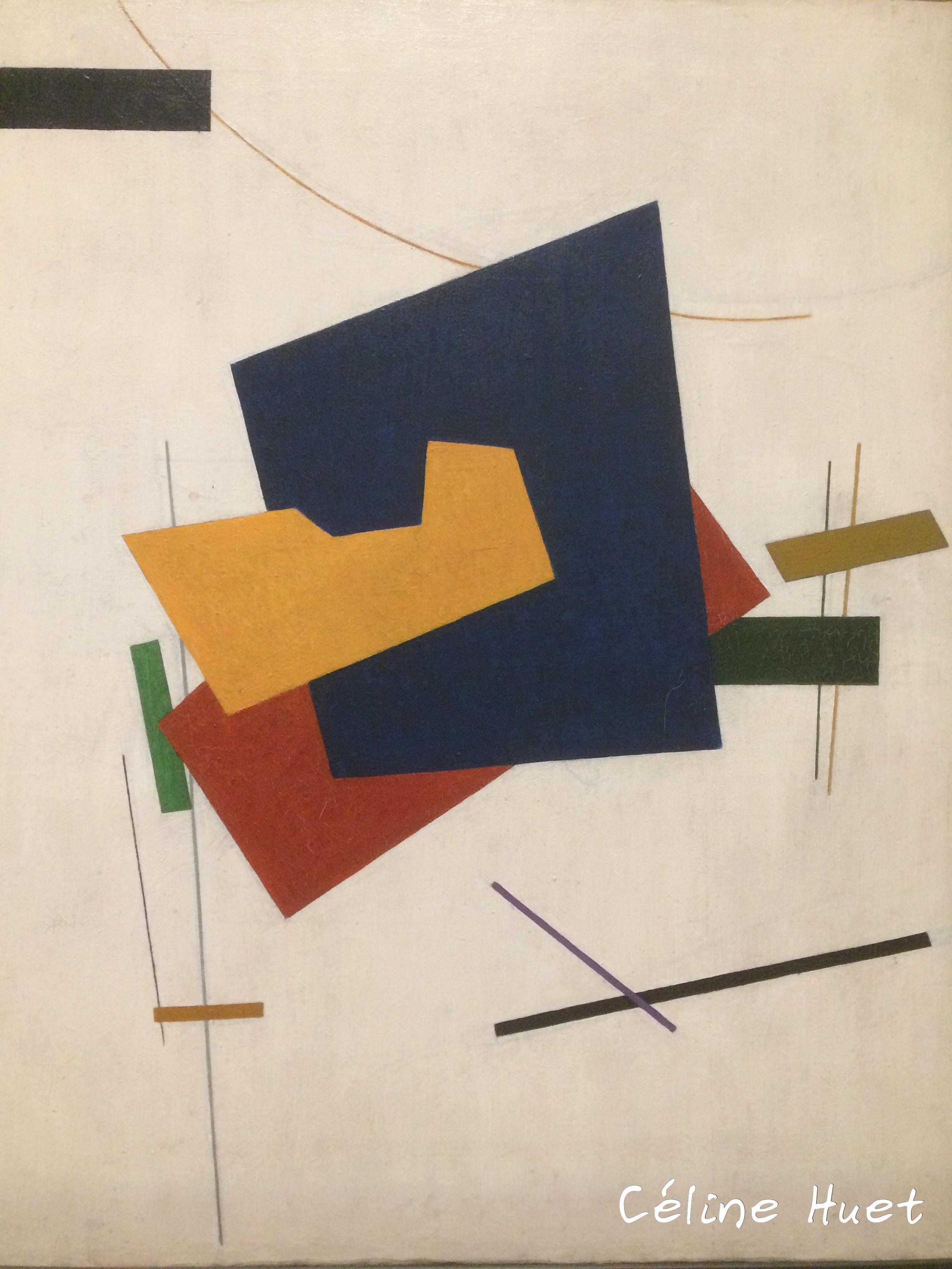 Suprématisme Klioune Icônes de l'Art Moderne Fondation Louis Vuitton Paris