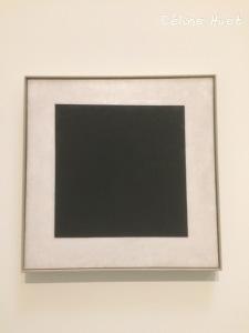 Carré noir Malévitch Icônes de l'Art Moderne Fondation Louis Vuitton Paris