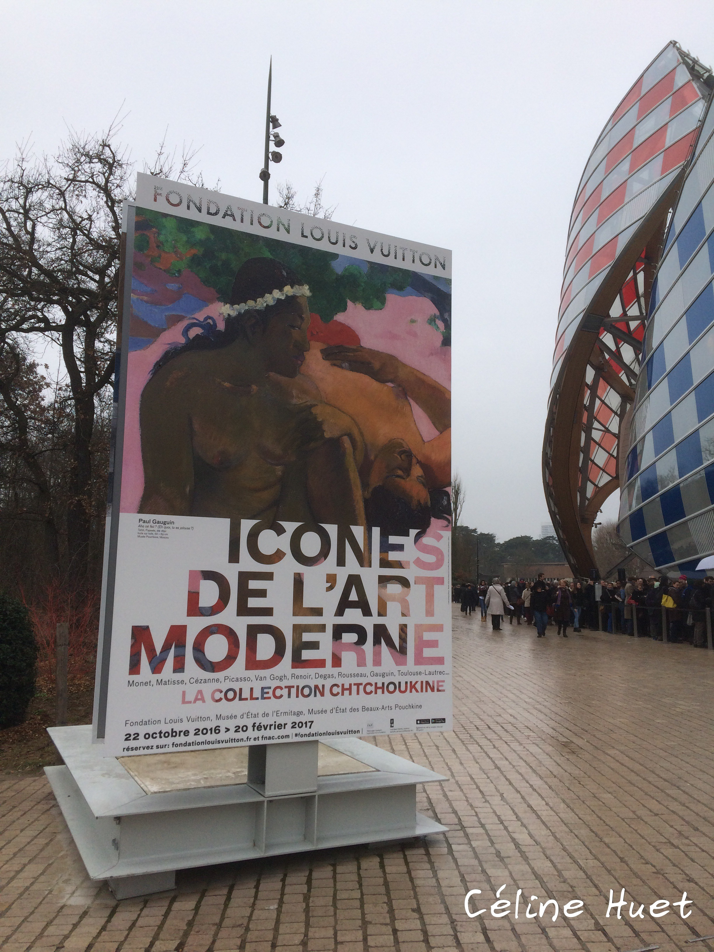 Exposition Icônes de l'Art Moderne Fondation Louis Vuitton Paris