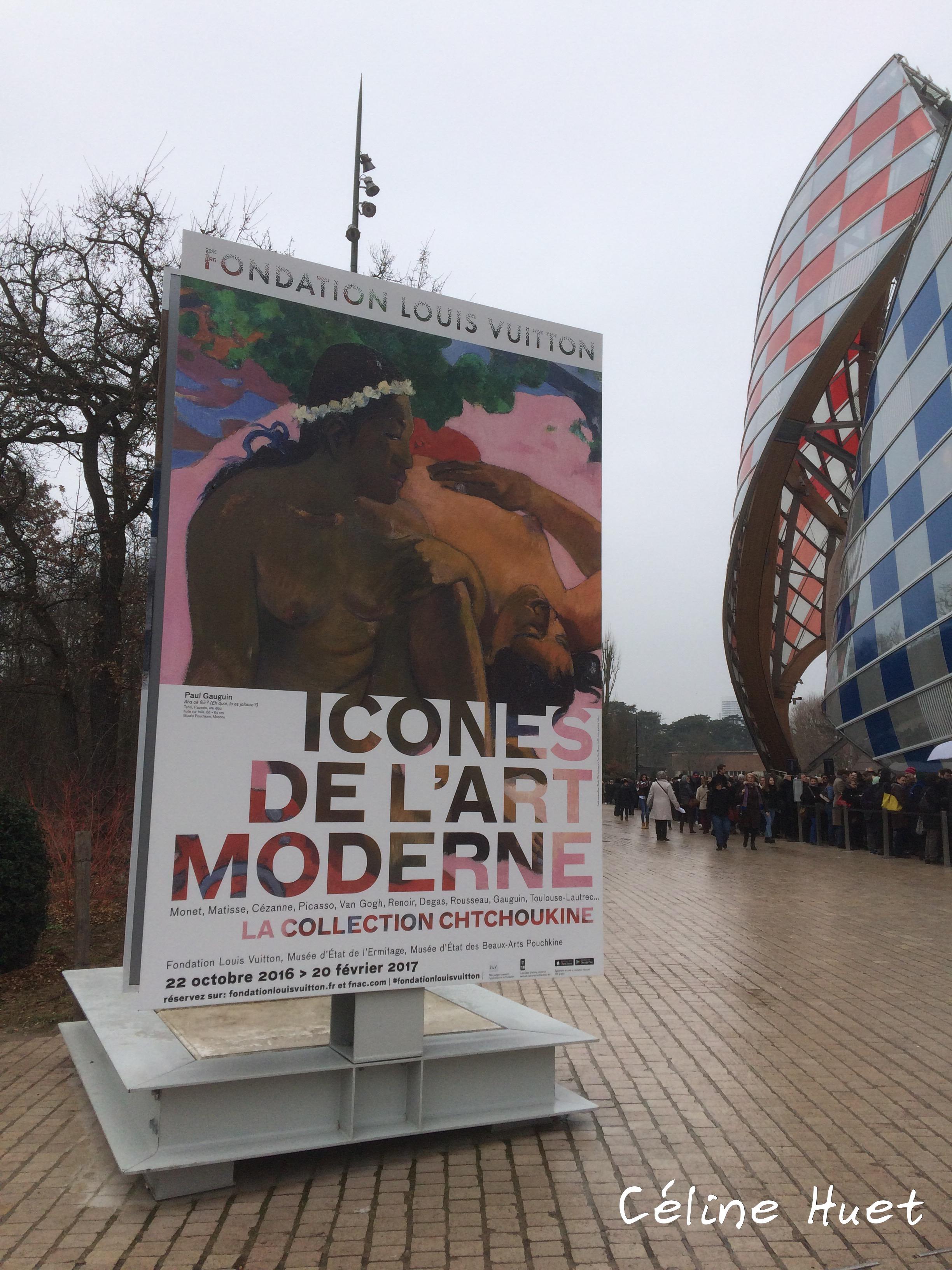 Exposition Icônes de l'Art Moderne Fondation Louis Vuitton Paris