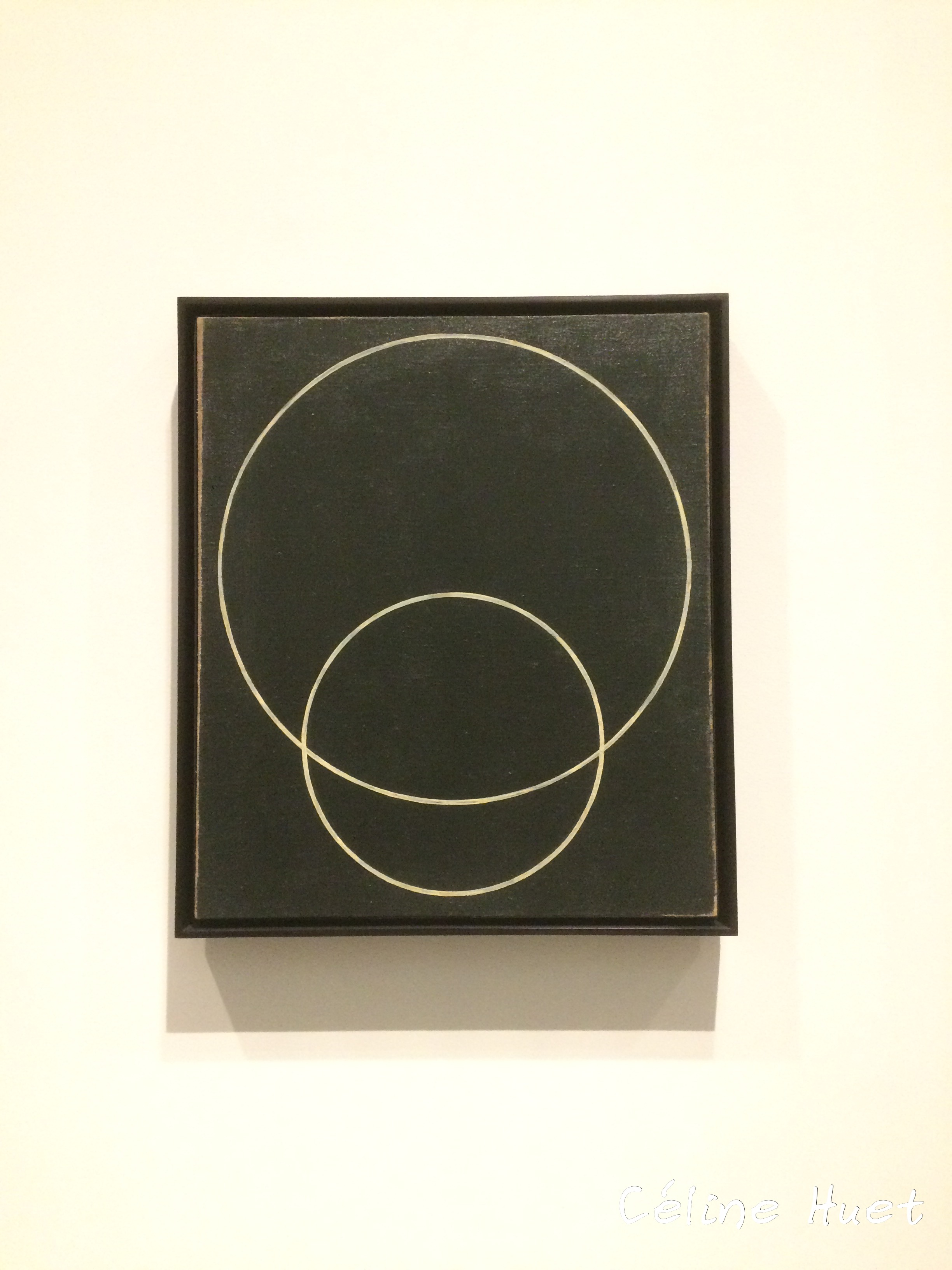 Deux cercles Rodtchenko Icônes de l'Art Moderne Fondation Louis Vuitton Paris