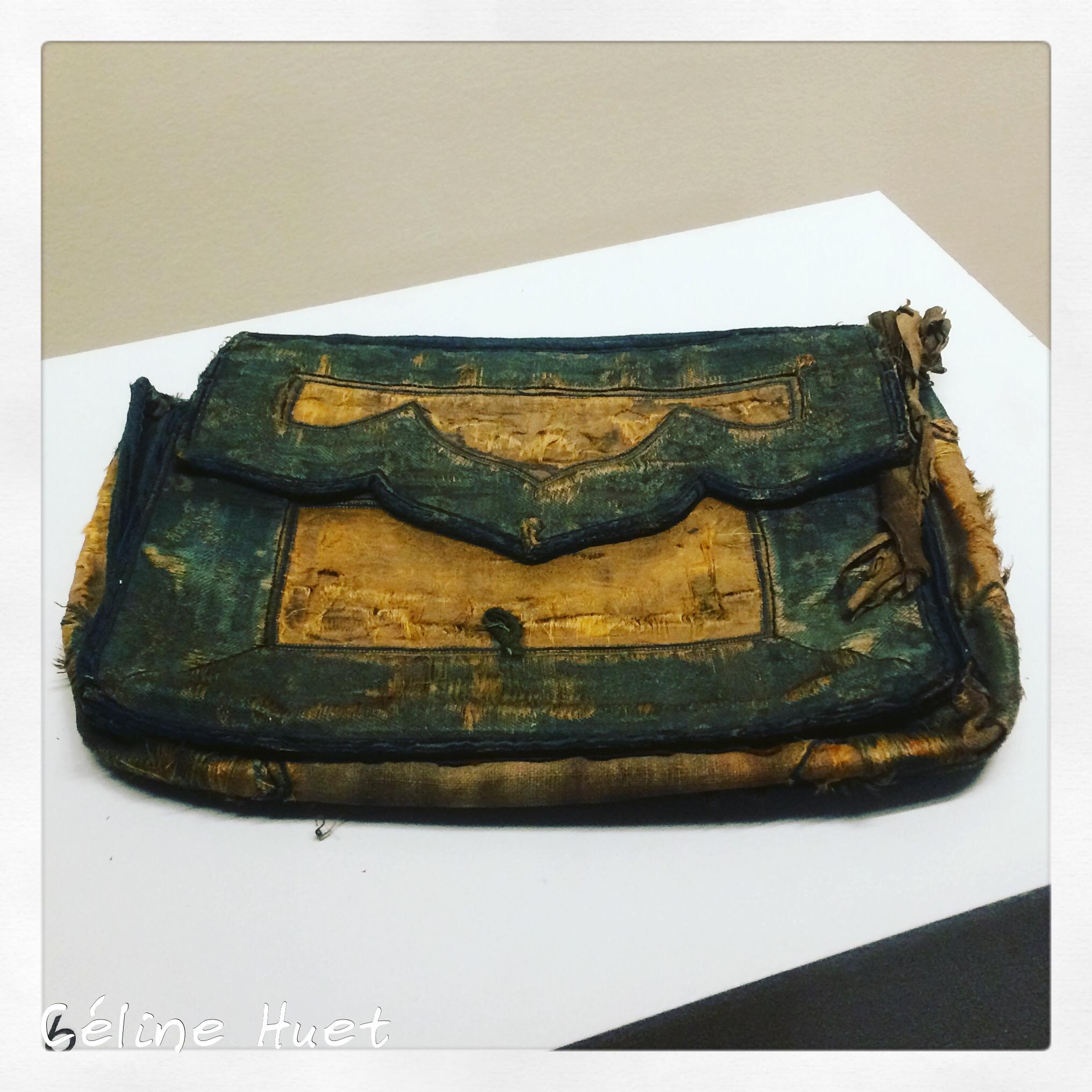 Son sac tibétain Exposition Alexandra David-Néel Musée Guimet Paris