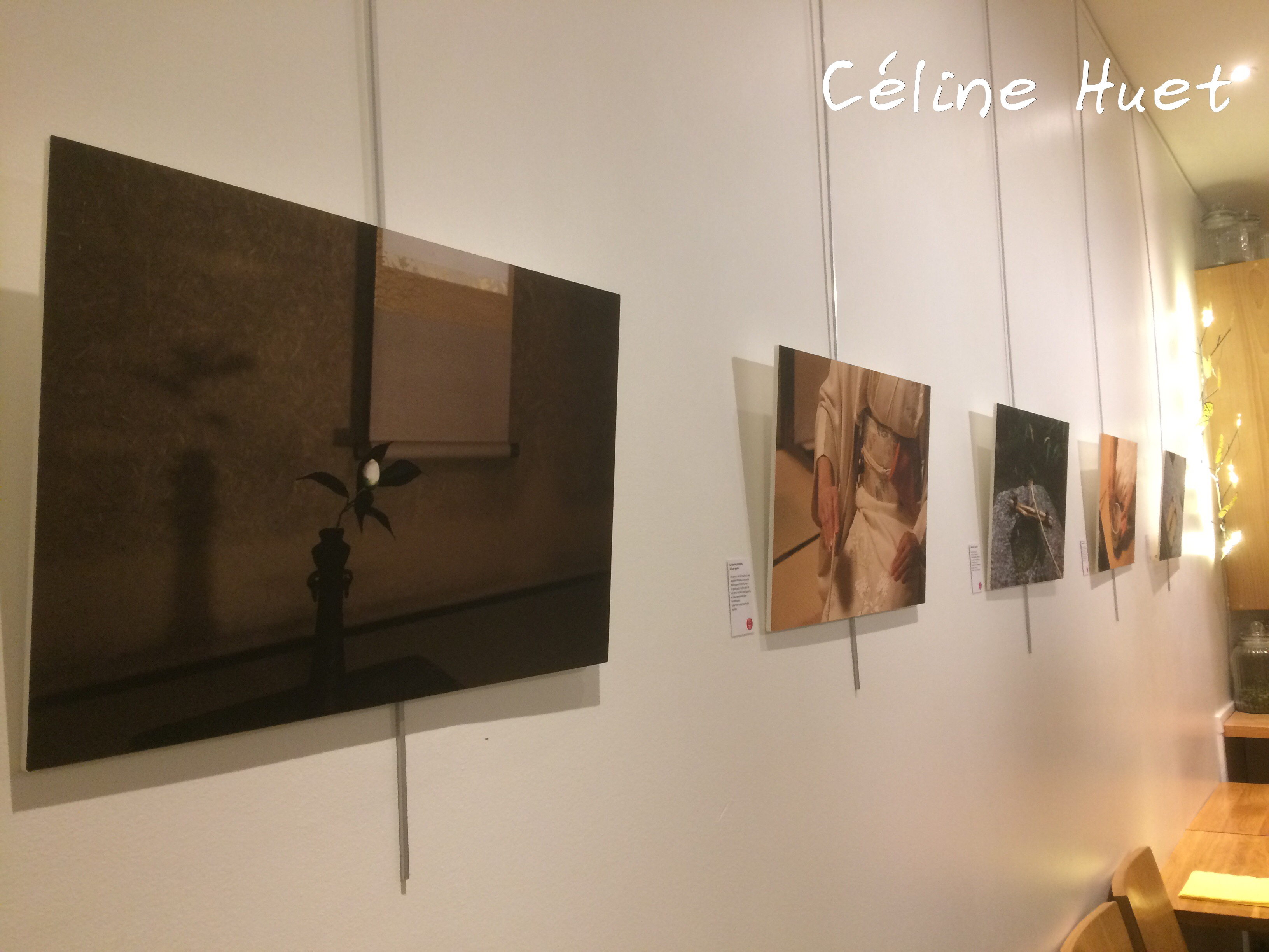 Exposition Nikosan Wabicha Dans la pénombre des maisons de thé George Cannon Paris