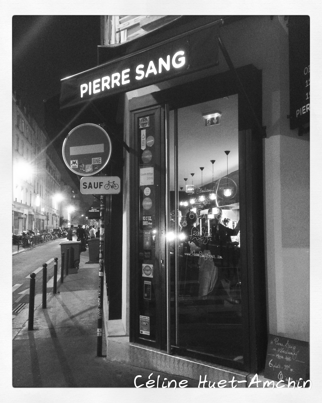 Pierre Sang in Oberkampf Paris