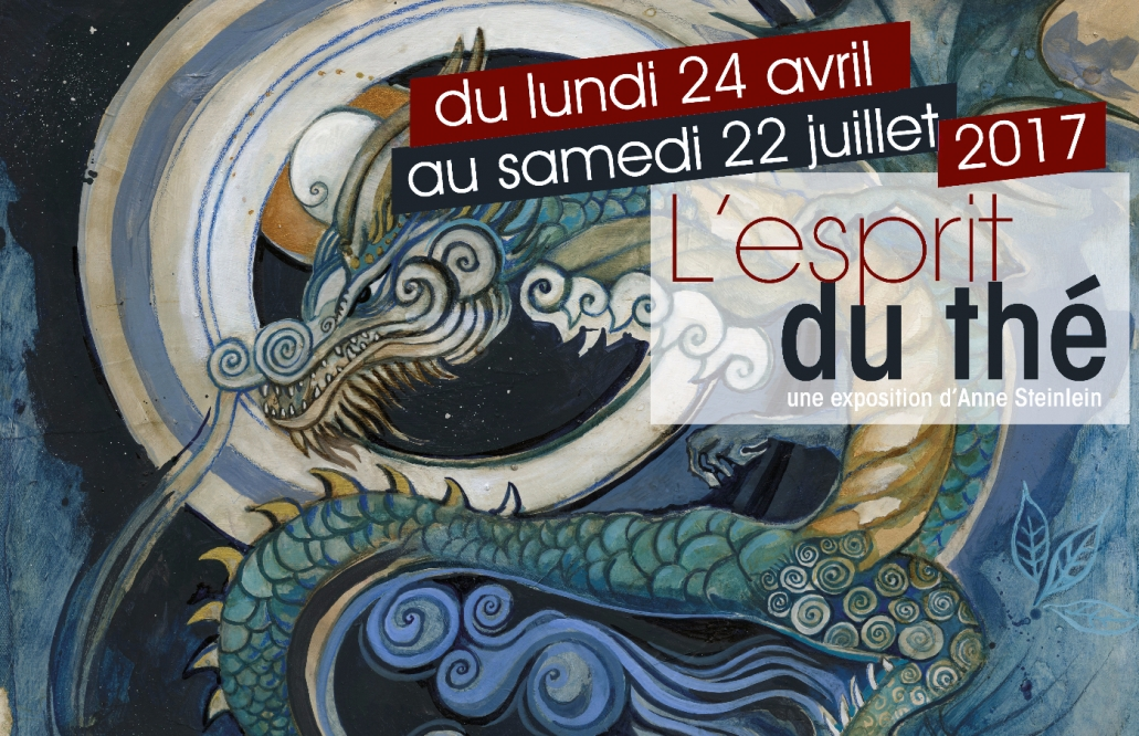 Exposition L'esprit du thé Anne Steinlein George Cannon Paris