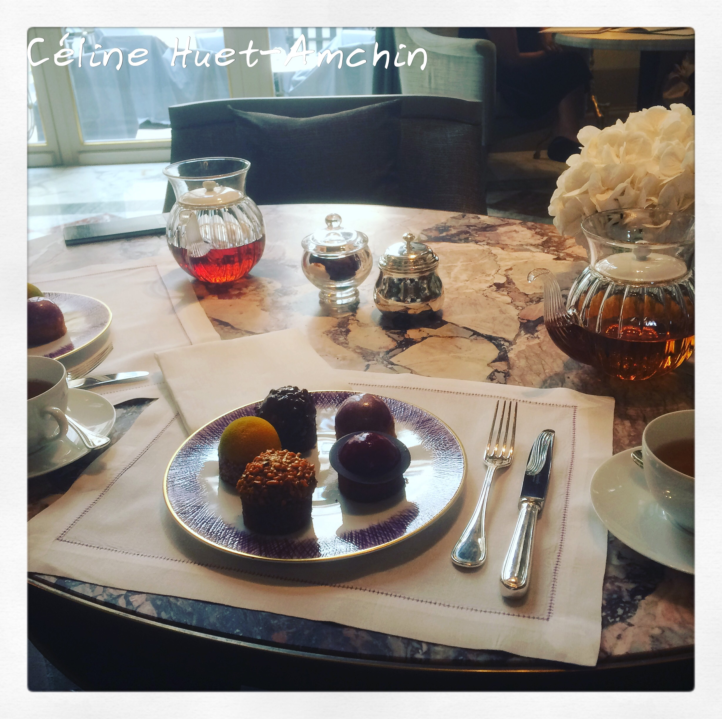 Tea Time Crillon Paris