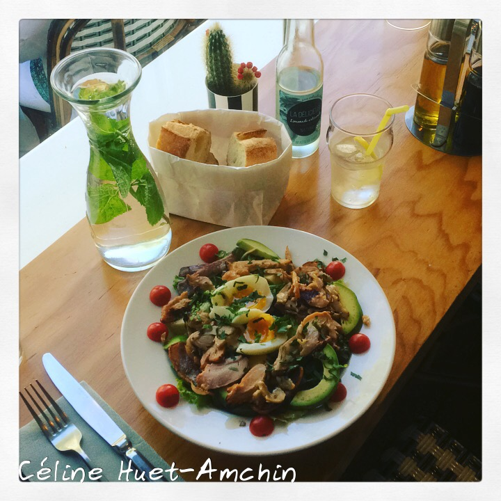 Salade Cobb restaurant Clint Paris