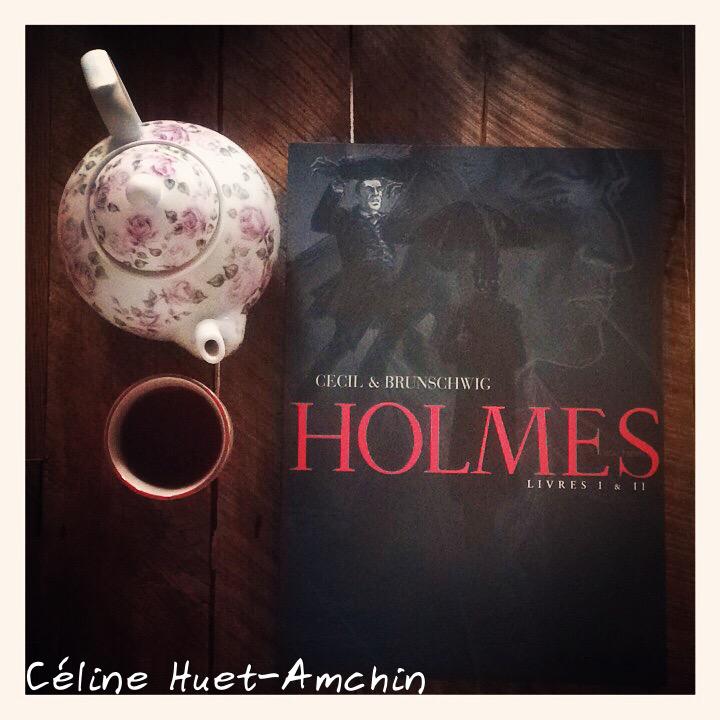 Holmes (1854-1891 ?) Cecil & Brunschwig Editions Futuropolis