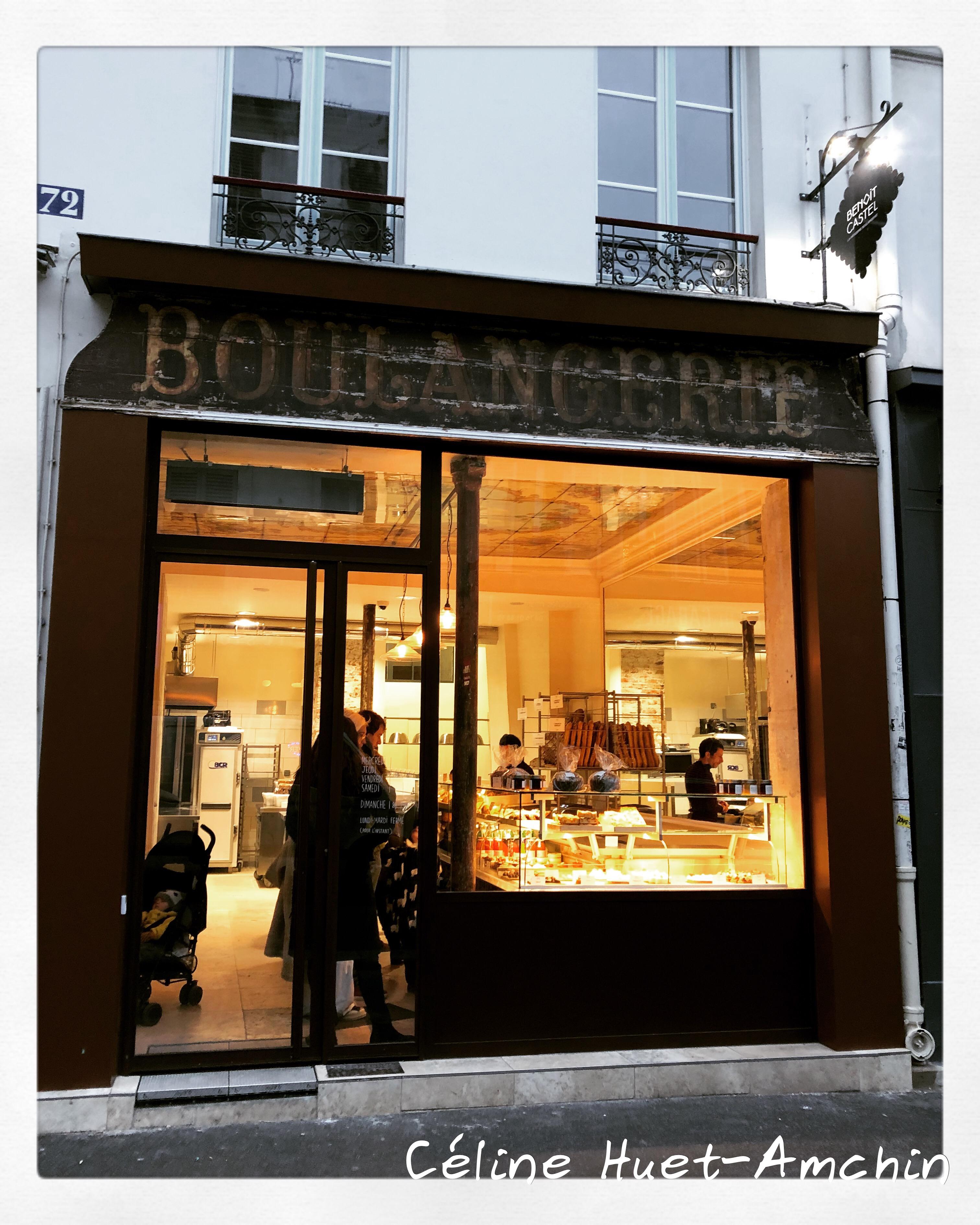 Boulangerie Pâtisserie Benoît Castel Paris XIe