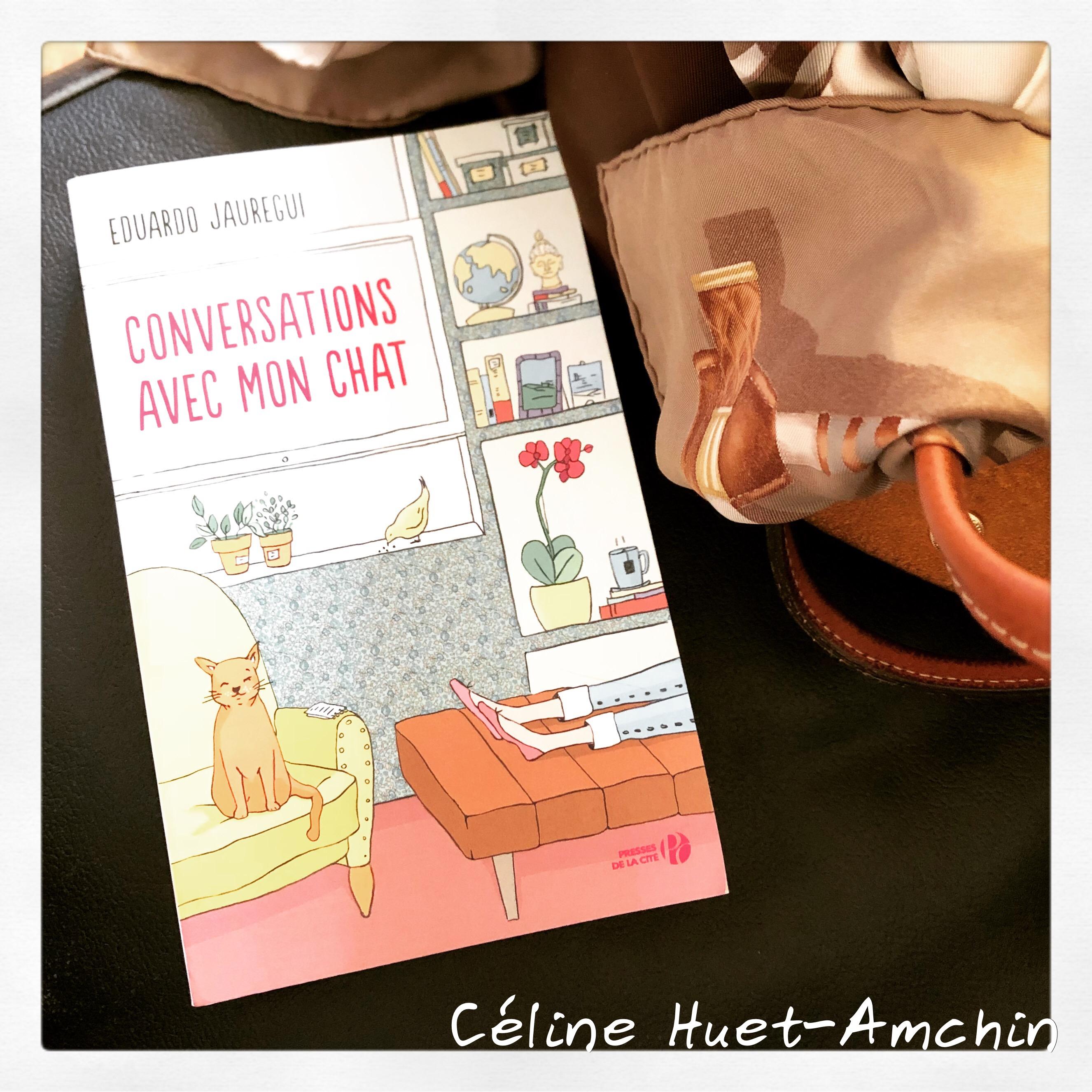 Conversations avec mon chat Eduardo Jauregui Editions Presses de la Cité