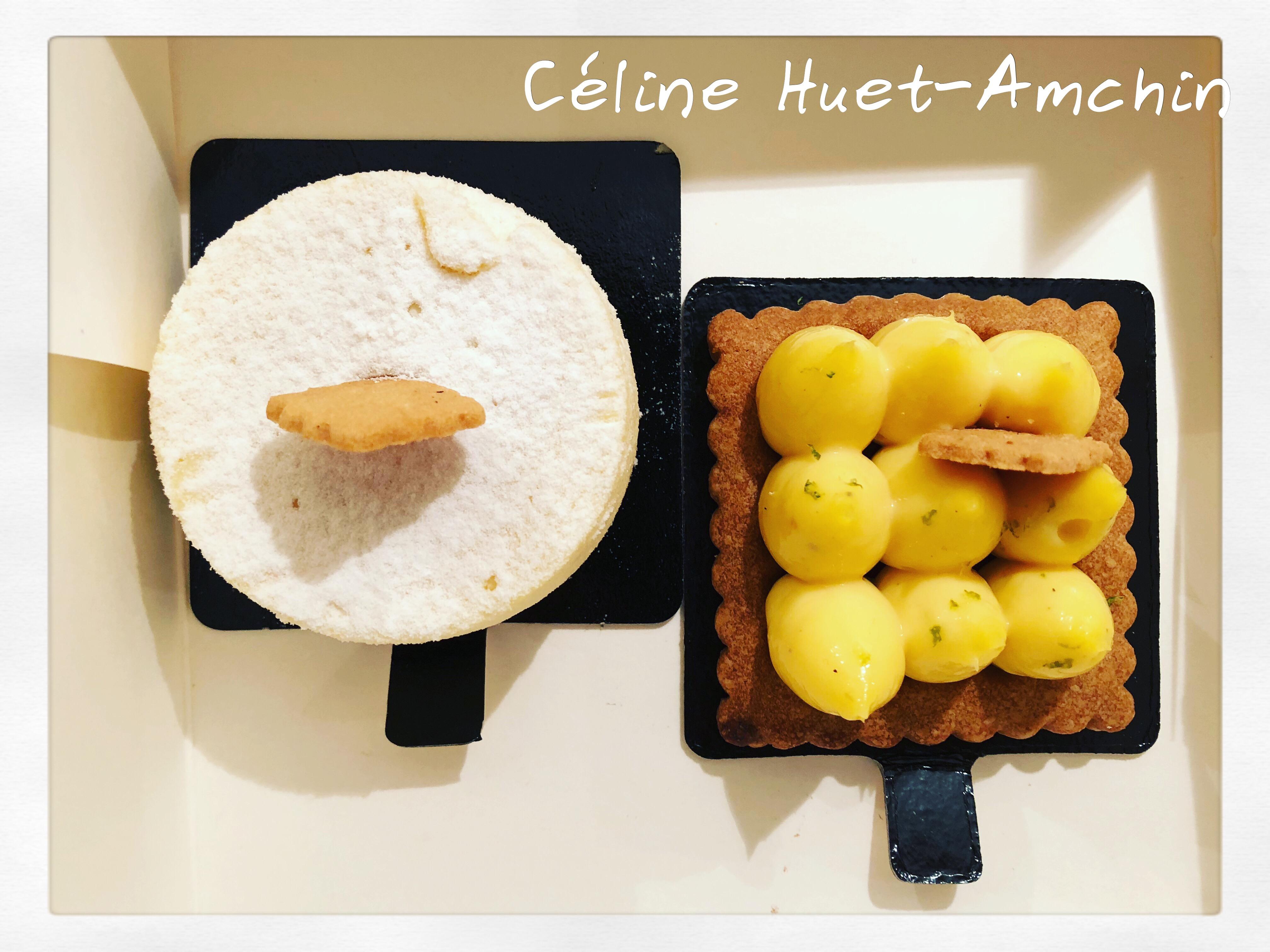 Cheesecake Tarte au citron Benoît Castel Paris XIe