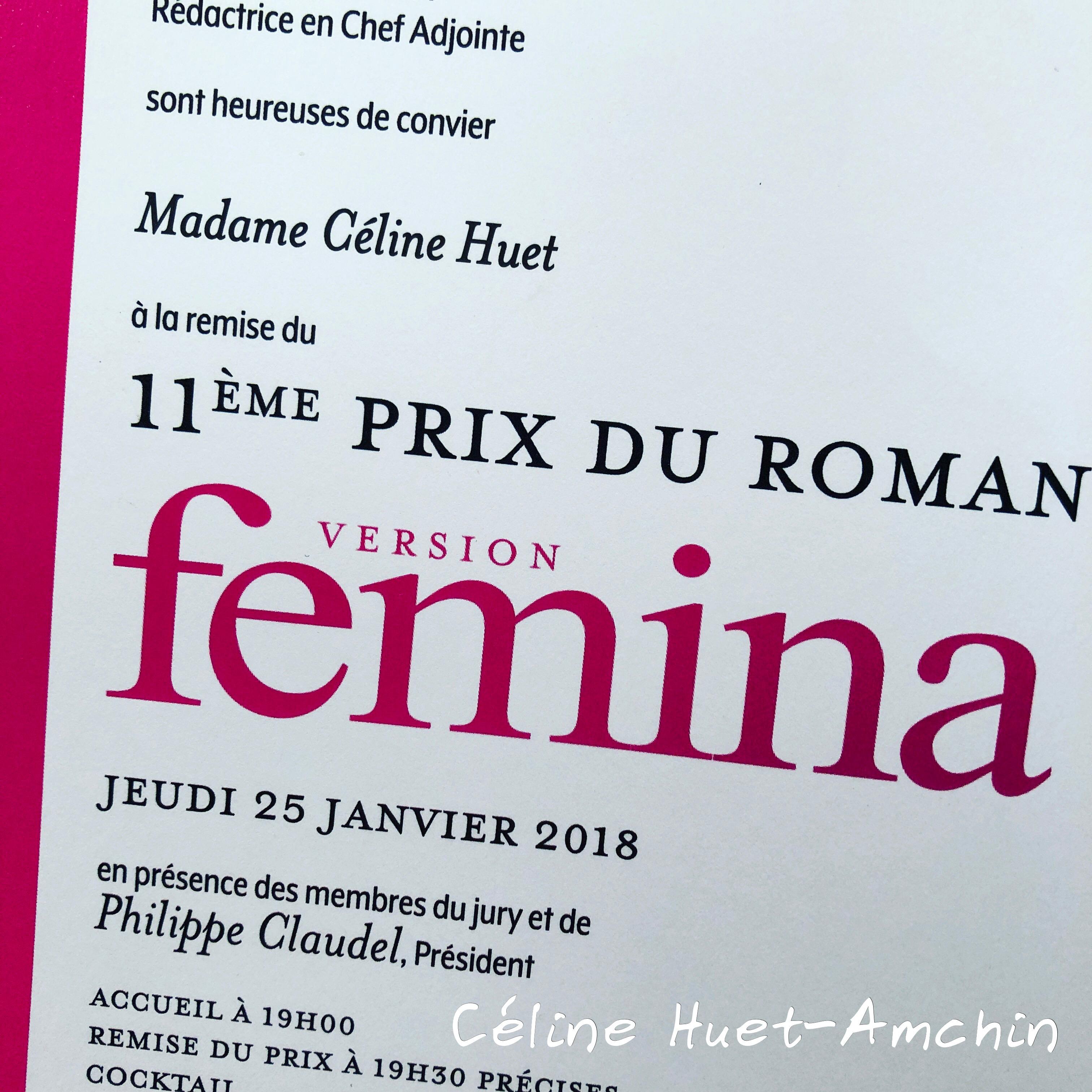 11e Prix Version Femina