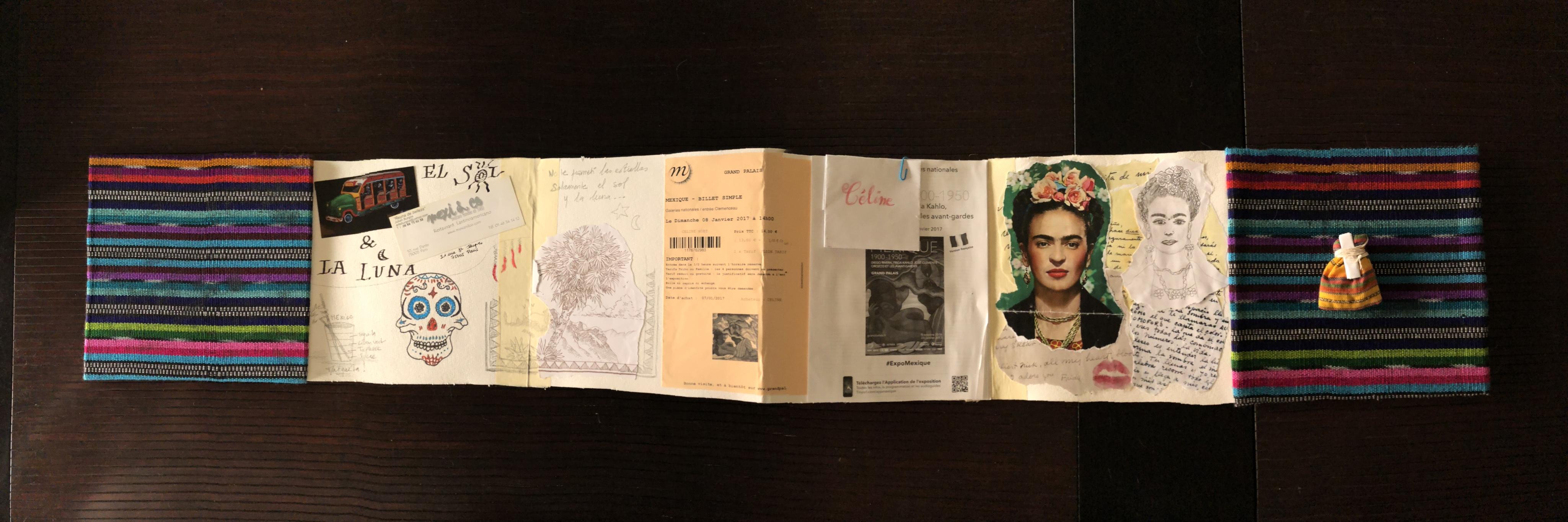 Carnet de voyage Mexique à Paris Céline Huet Amchin