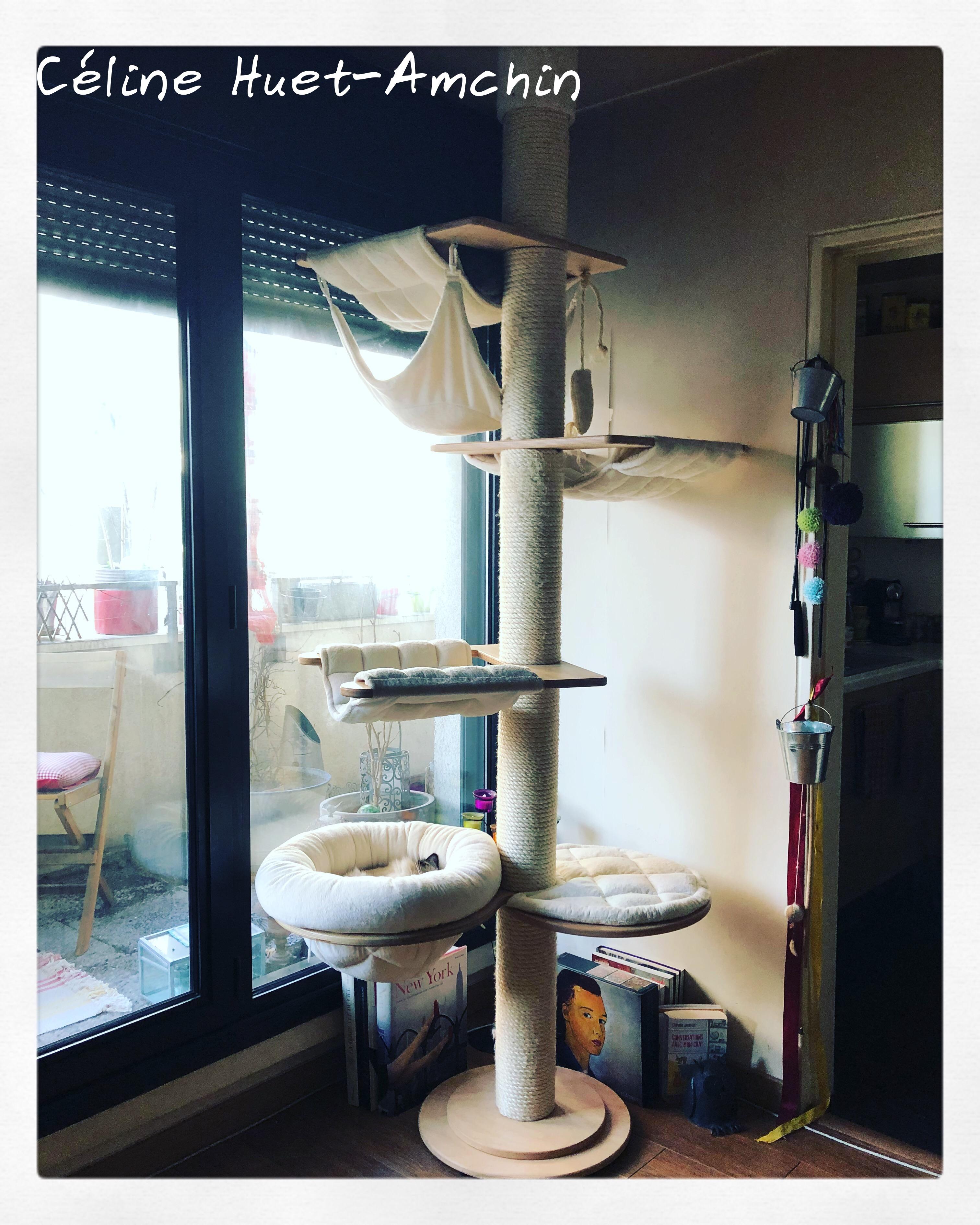 Arbre à chat Luxembourg Katzen-Deko