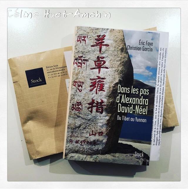 Dans les pas d'Alexandra David-Néel Eric Faye et Christian Garcin Editions Stock