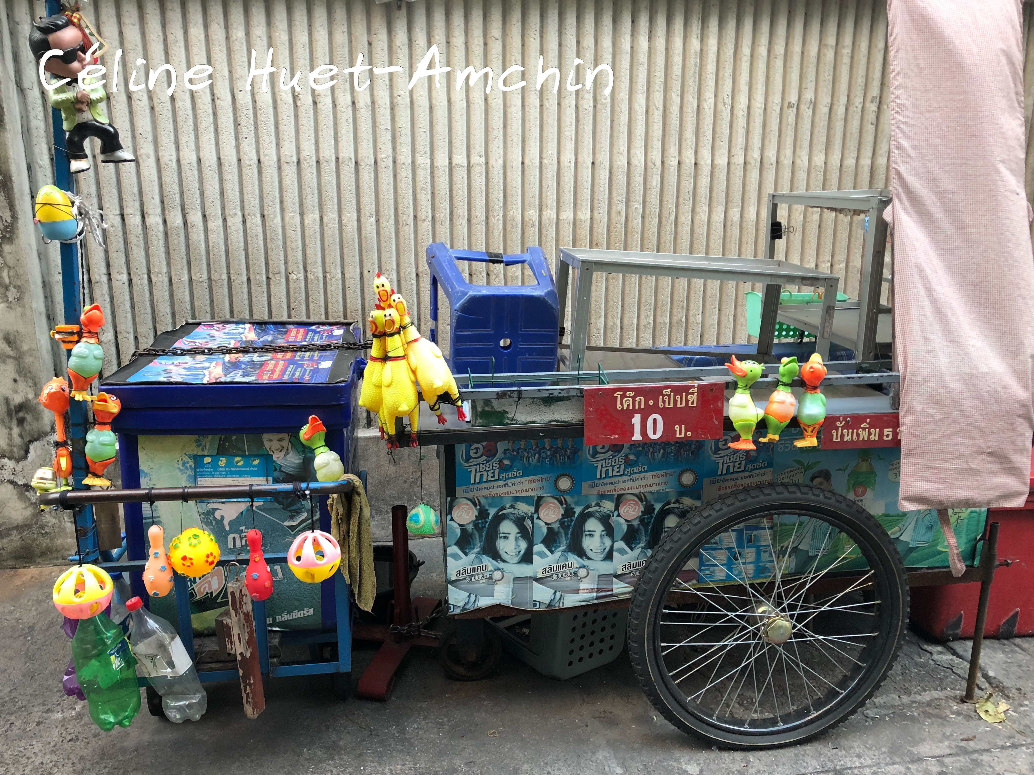Street food off Bangkok Thaïlande Asie