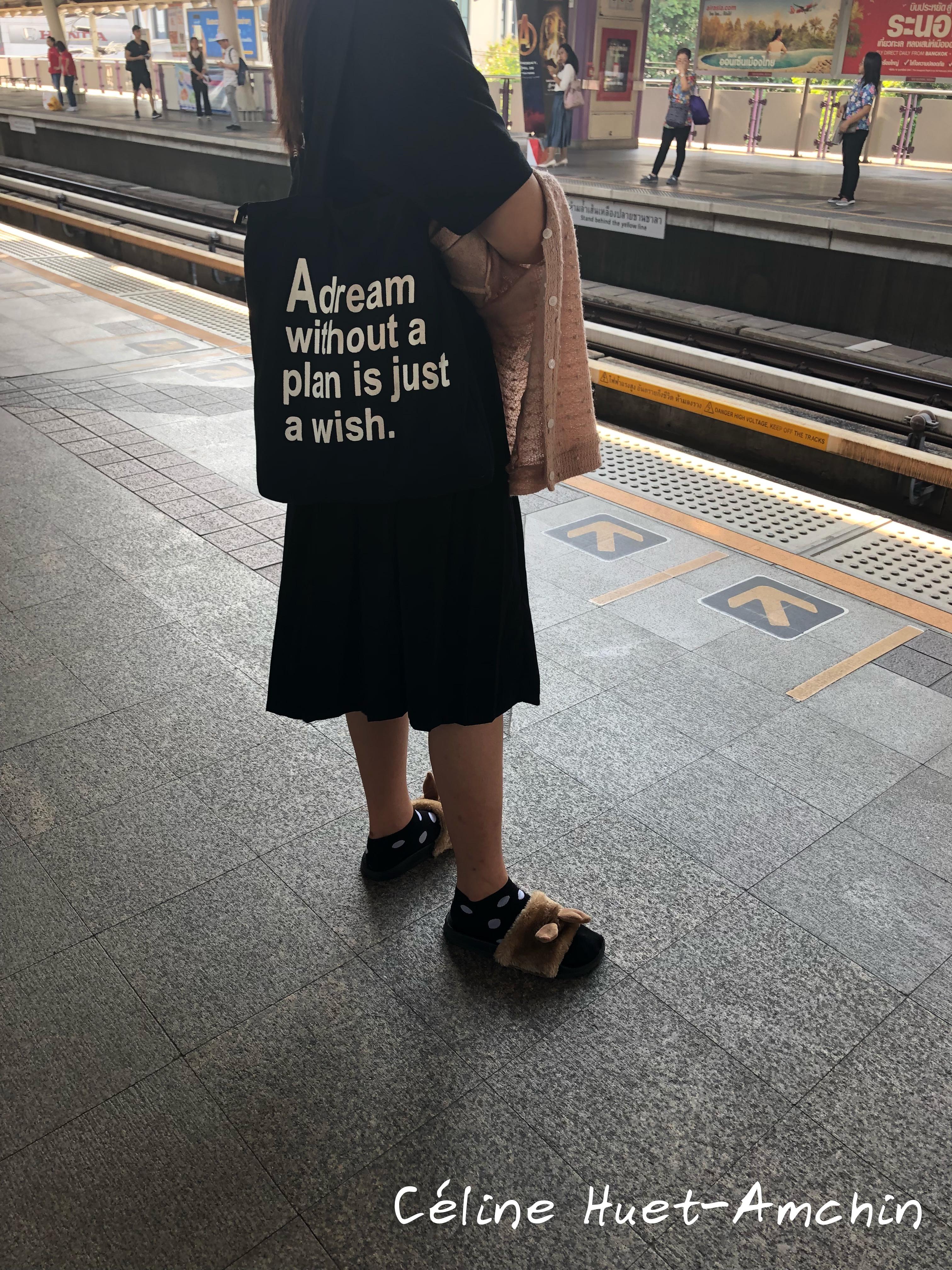 Métro station Surasak Bangkok Thaïlande Asie