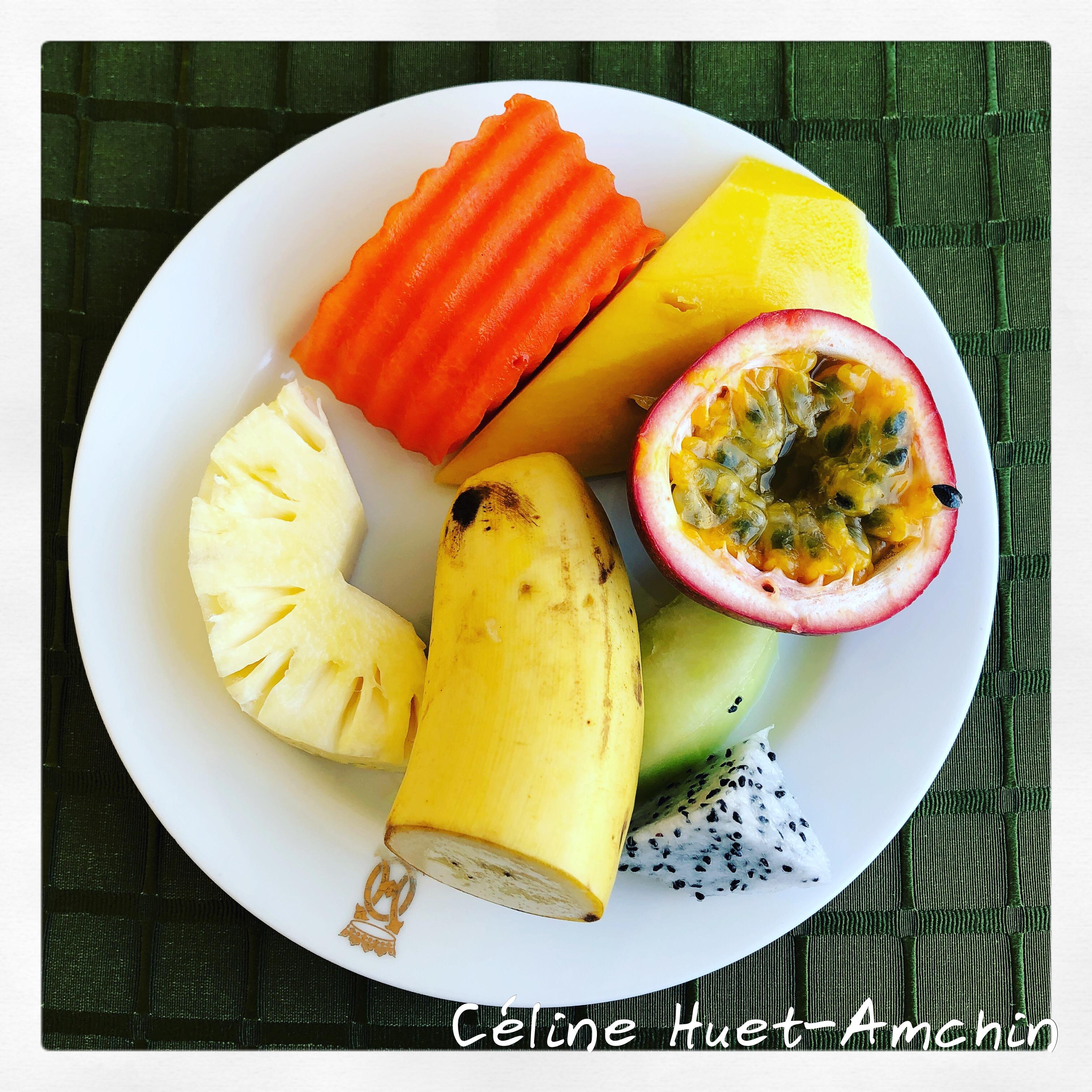 Fruits Bangkok Thaïlande Asie