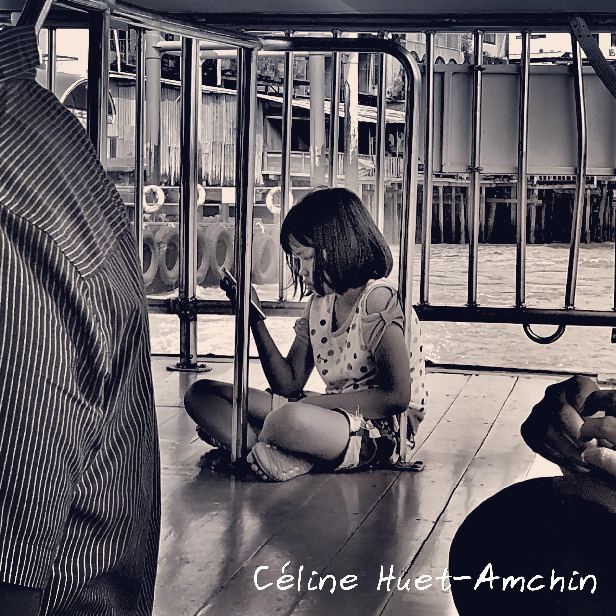 Sur le Chao Praya Bangkok Thaïlande Asie