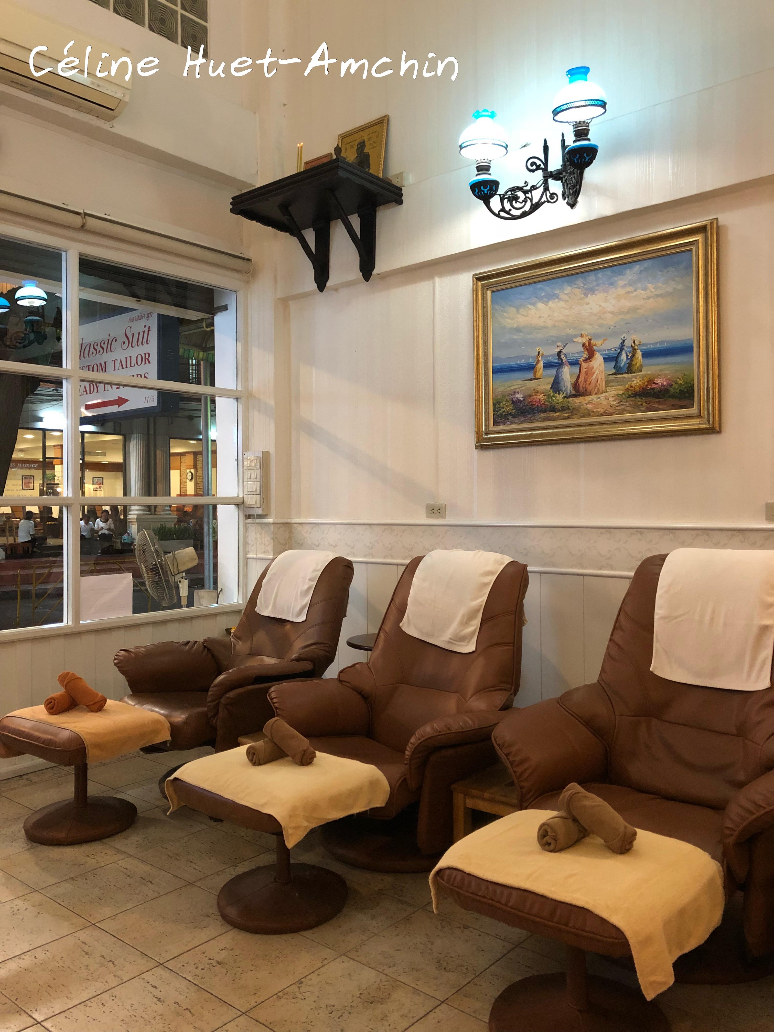Foot massage Spa Royal Bolanic Bangkok Thaïlande Asie