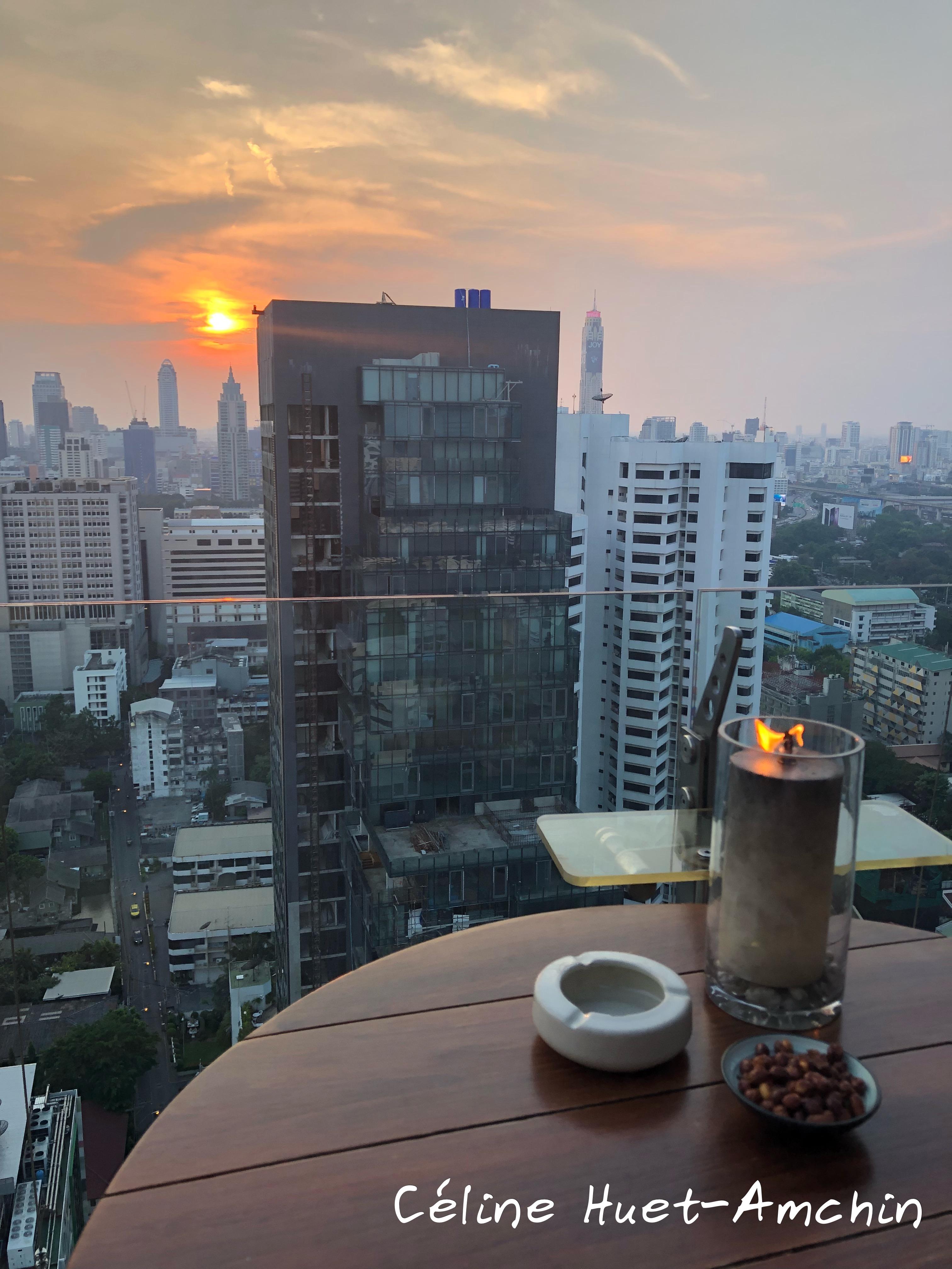Above Eleven Bangkok Thaïlande Asie