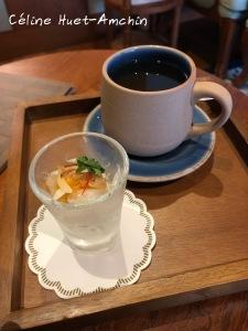 Ginger ice tea and Pomelo salad Spa Mandarin Oriental Bangkok Thaïlande Asie
