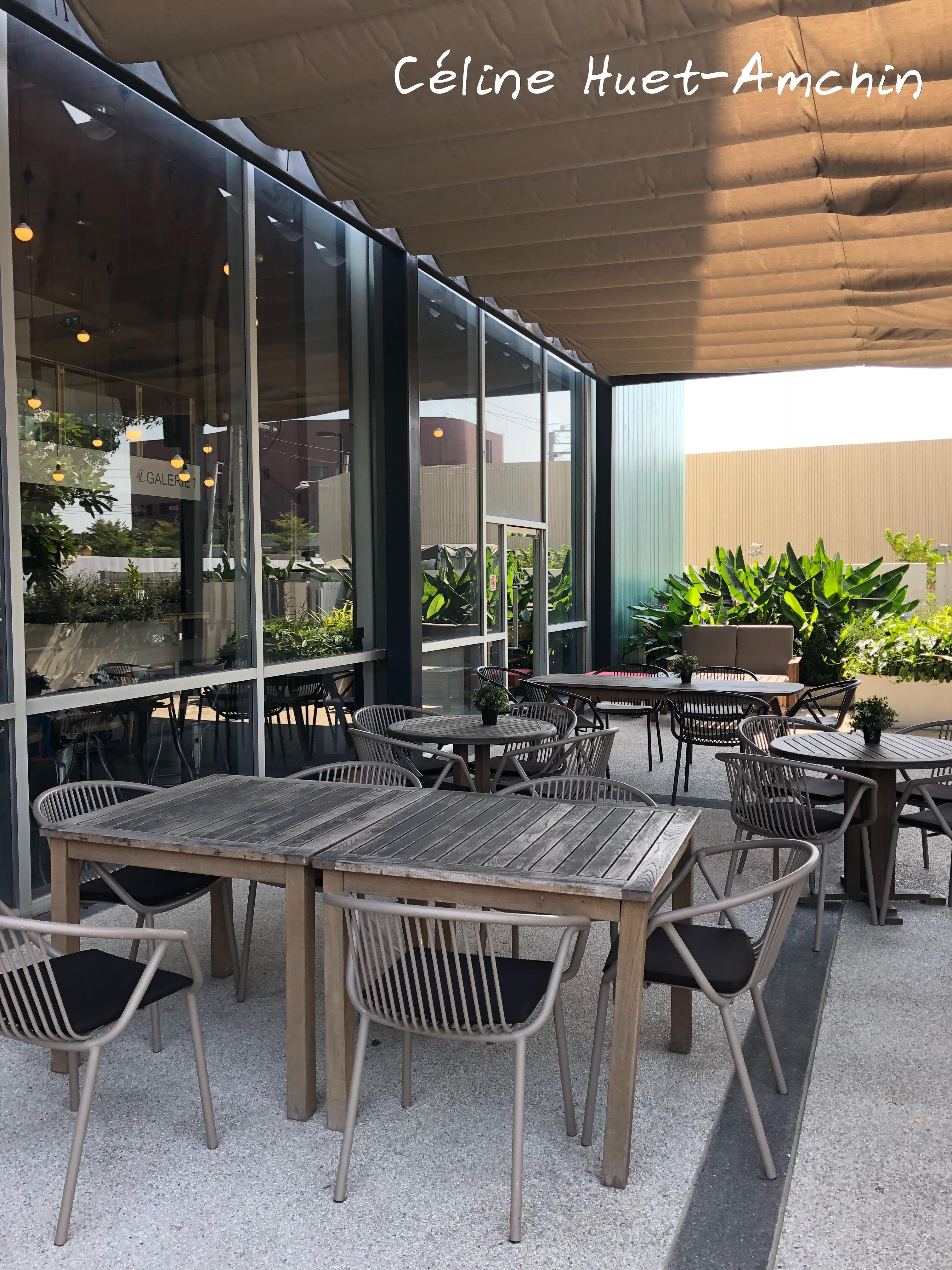 Café 1912 Alliance Française Bangkok Thaïlande Asie