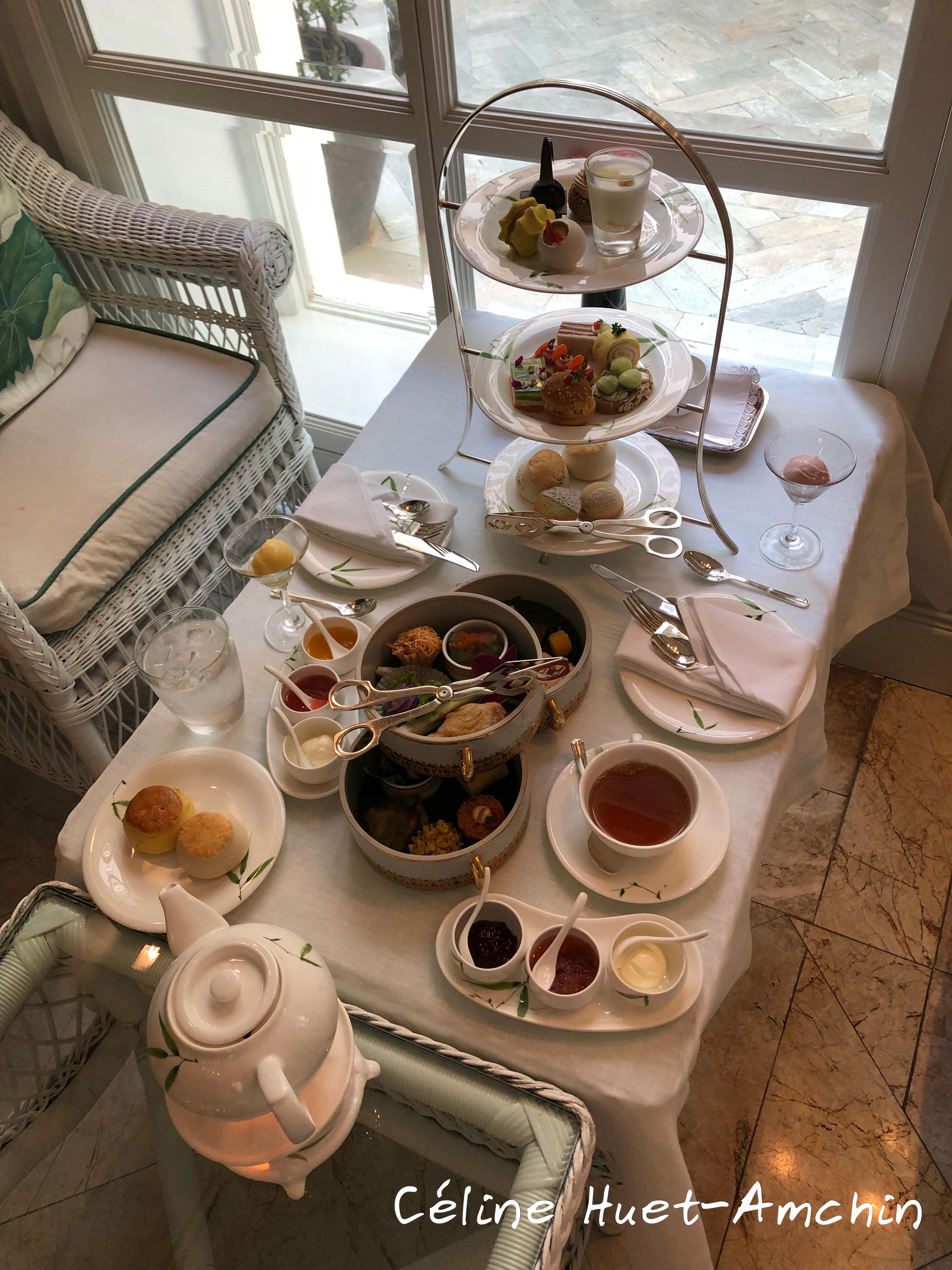 Tea Time Mandarin Oriental Bangkok Thaïlande Asie
