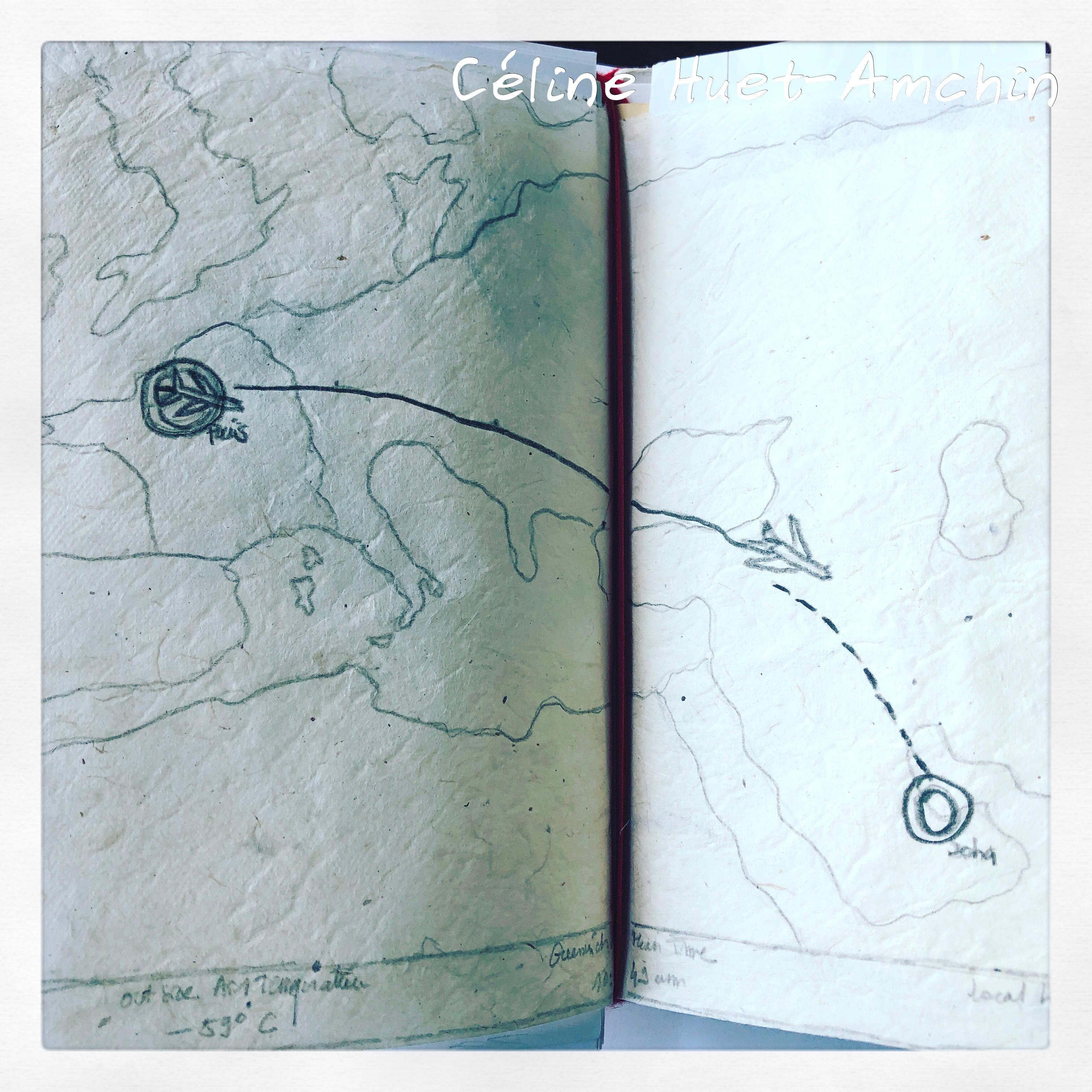 Carnet de voyage Instantanés d'Asie II Céline Huet-Amchin