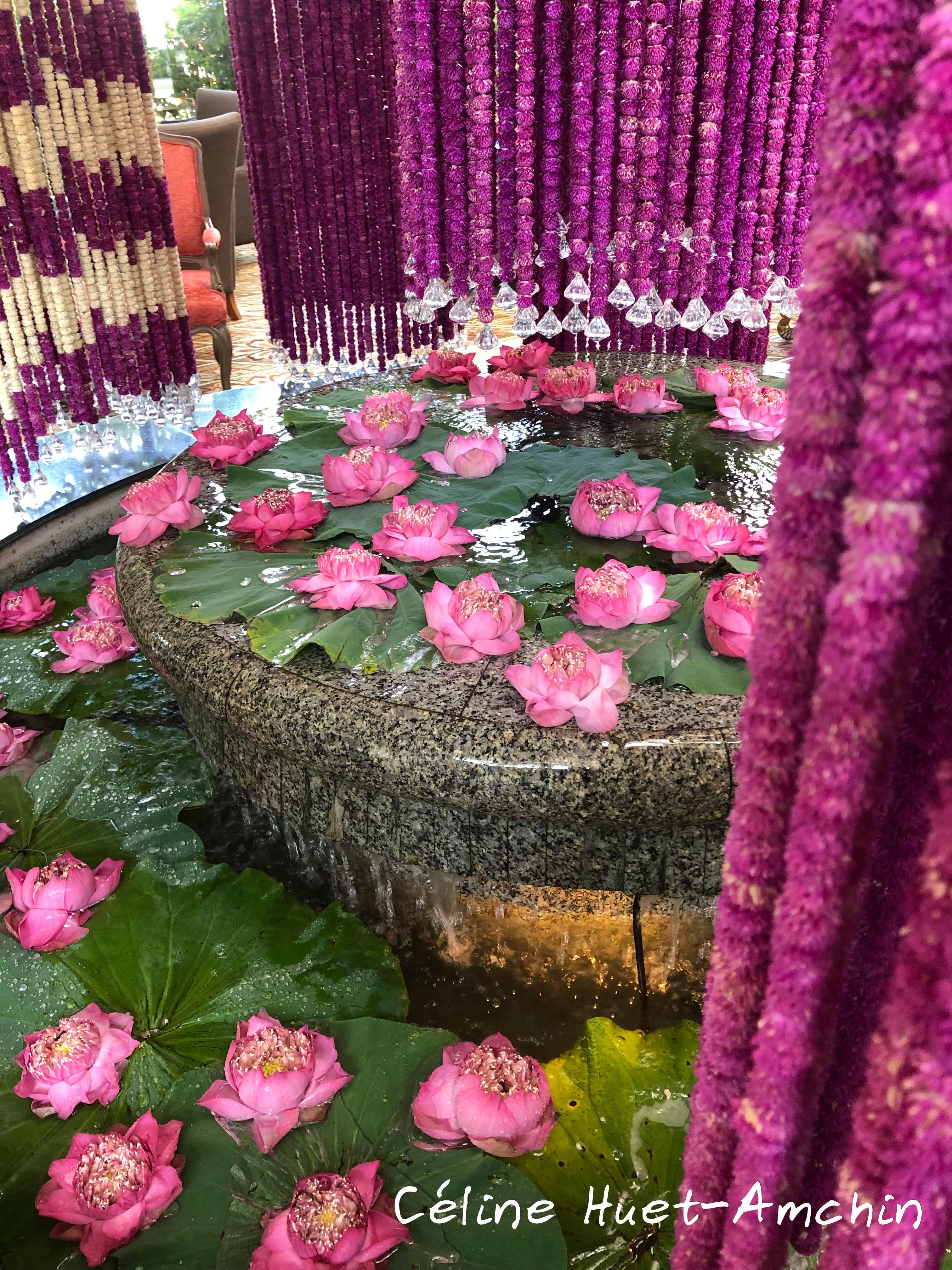 Fontaine Mandarin Oriental Bangkok Thaïlande Asie