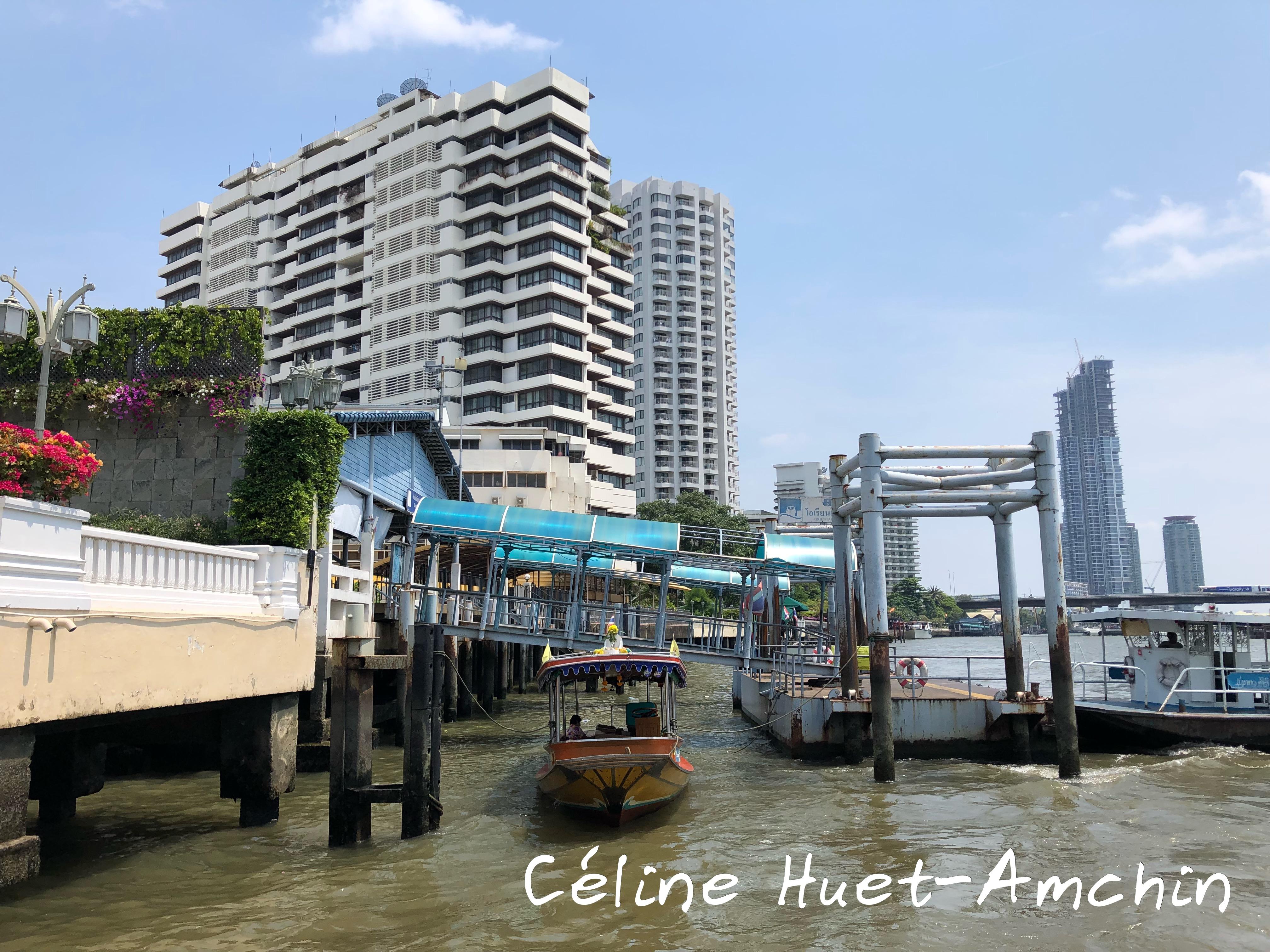 Oriental pier Bangkok Thaïlande Asie