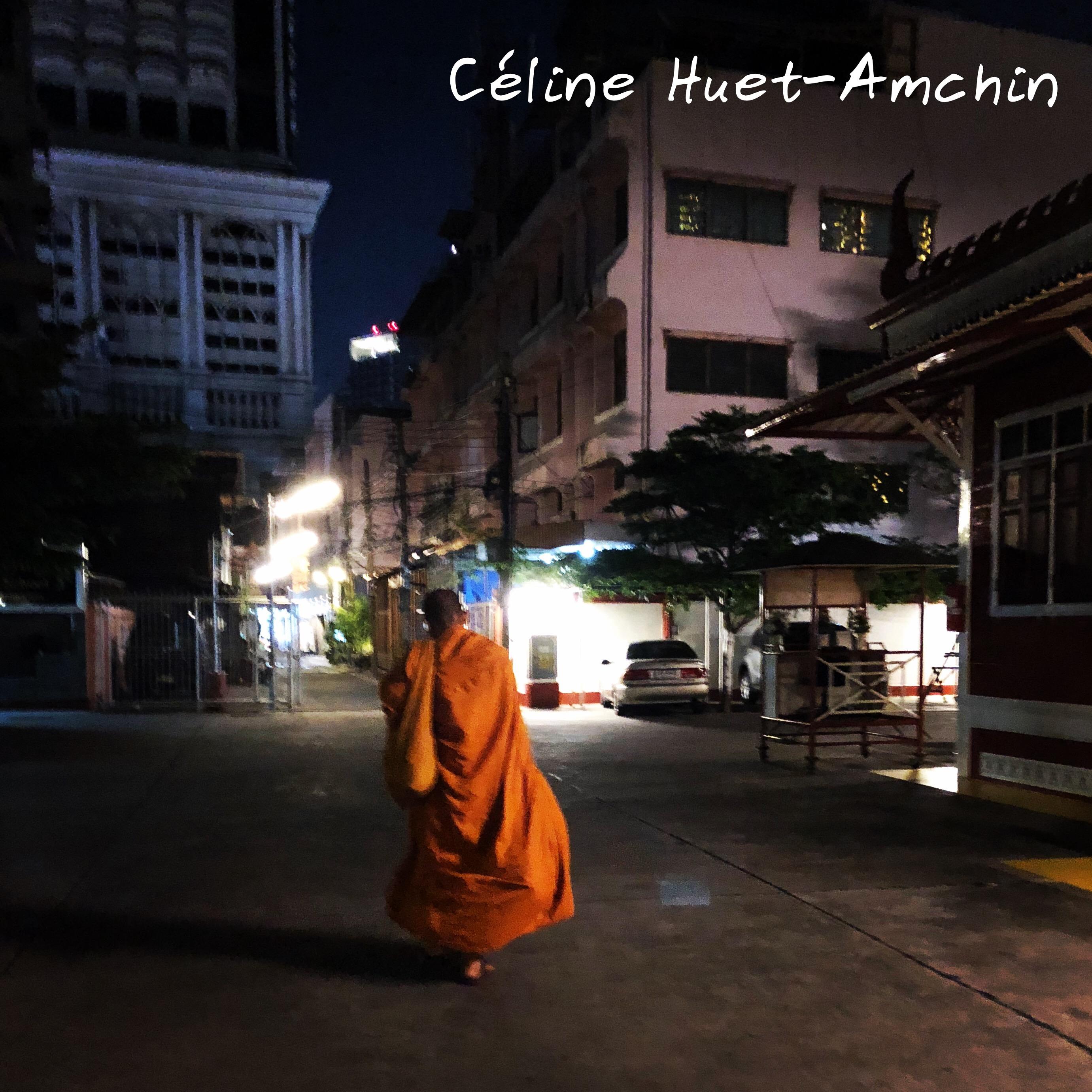 Bonze Bangkok Thaïlande Asie