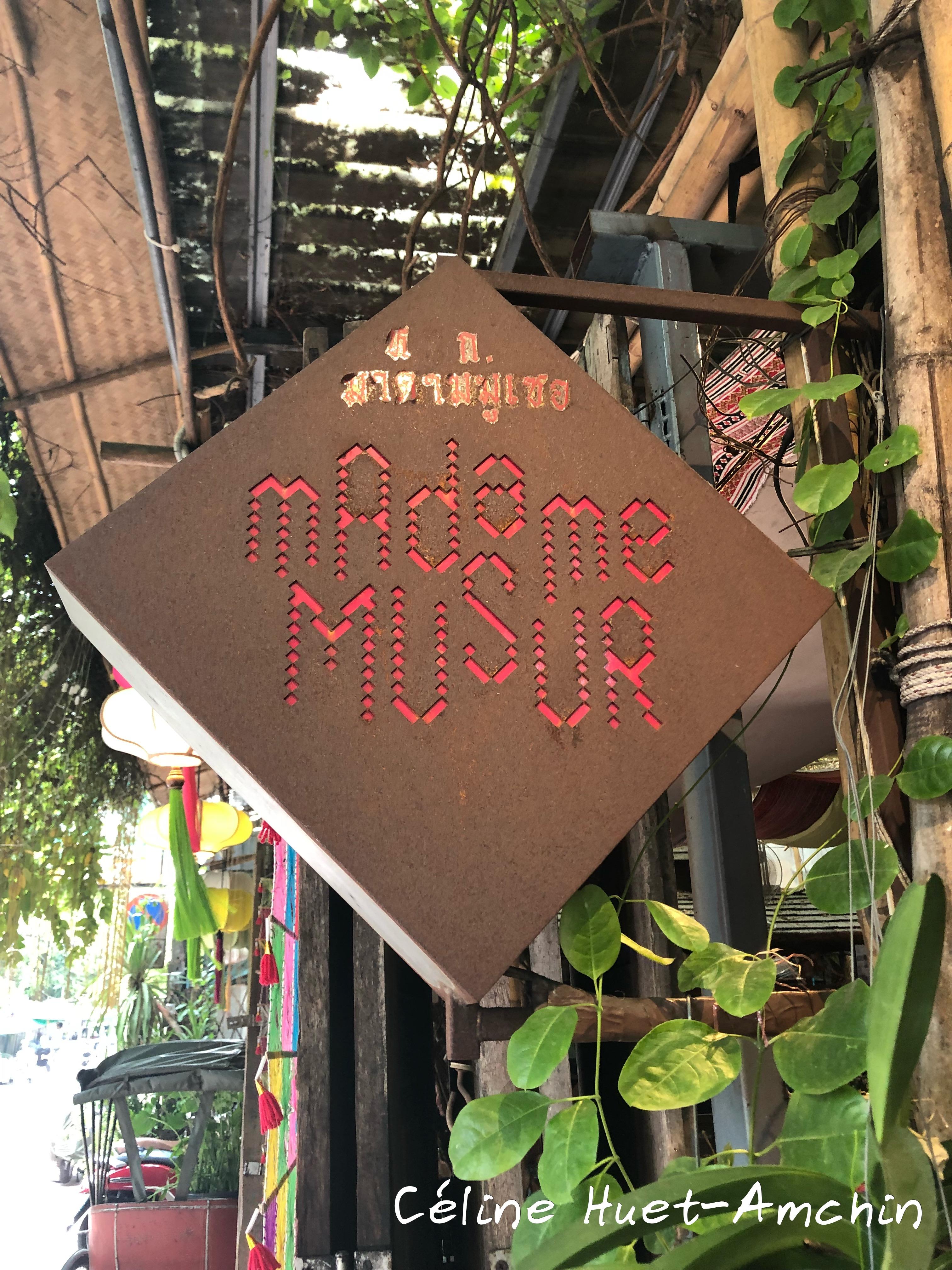Madame Musur Khao San Bangkok Thaïlande Asie