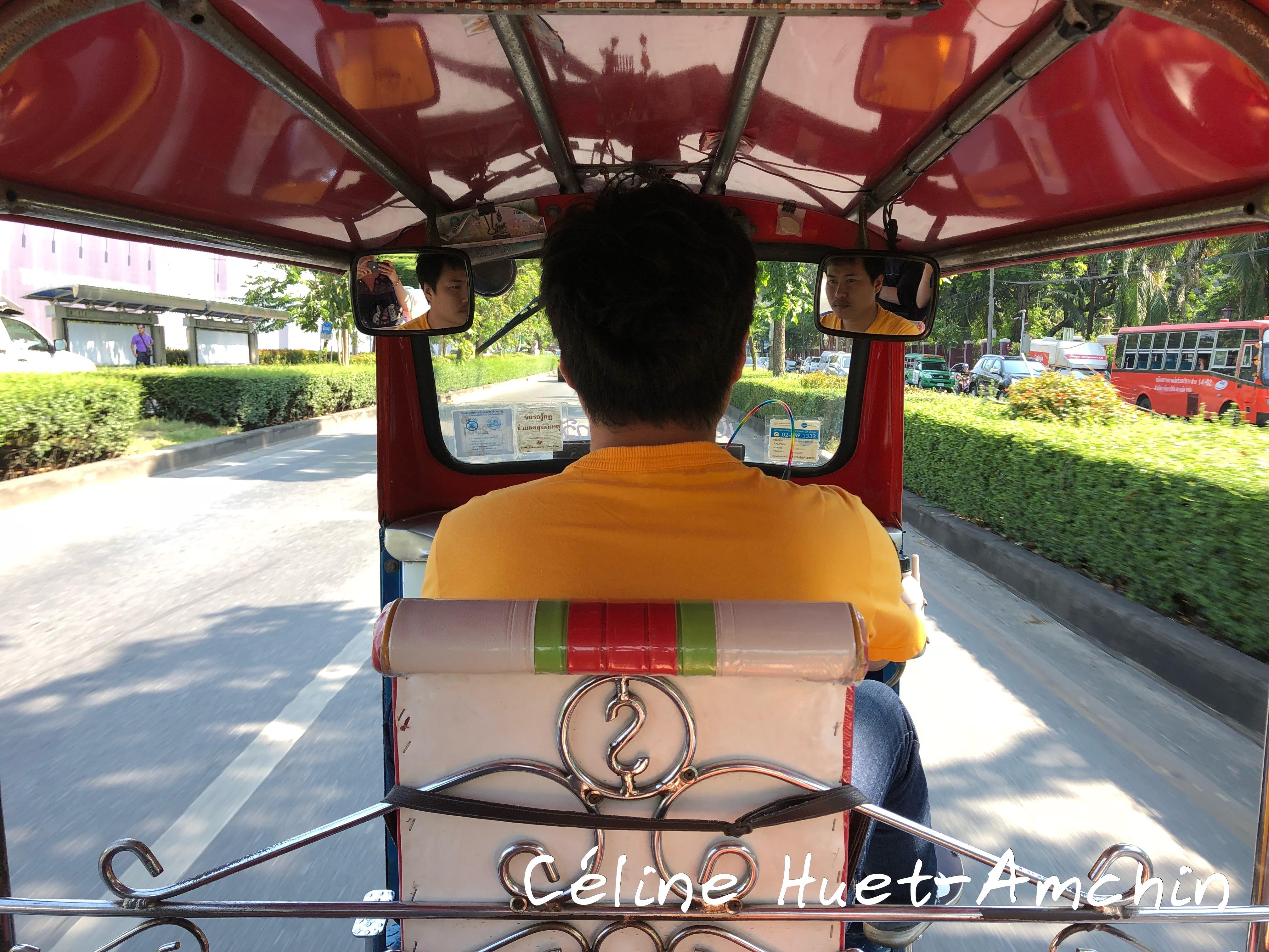 Inside Tuk-Tuk Bangkok Thaïlande Asie