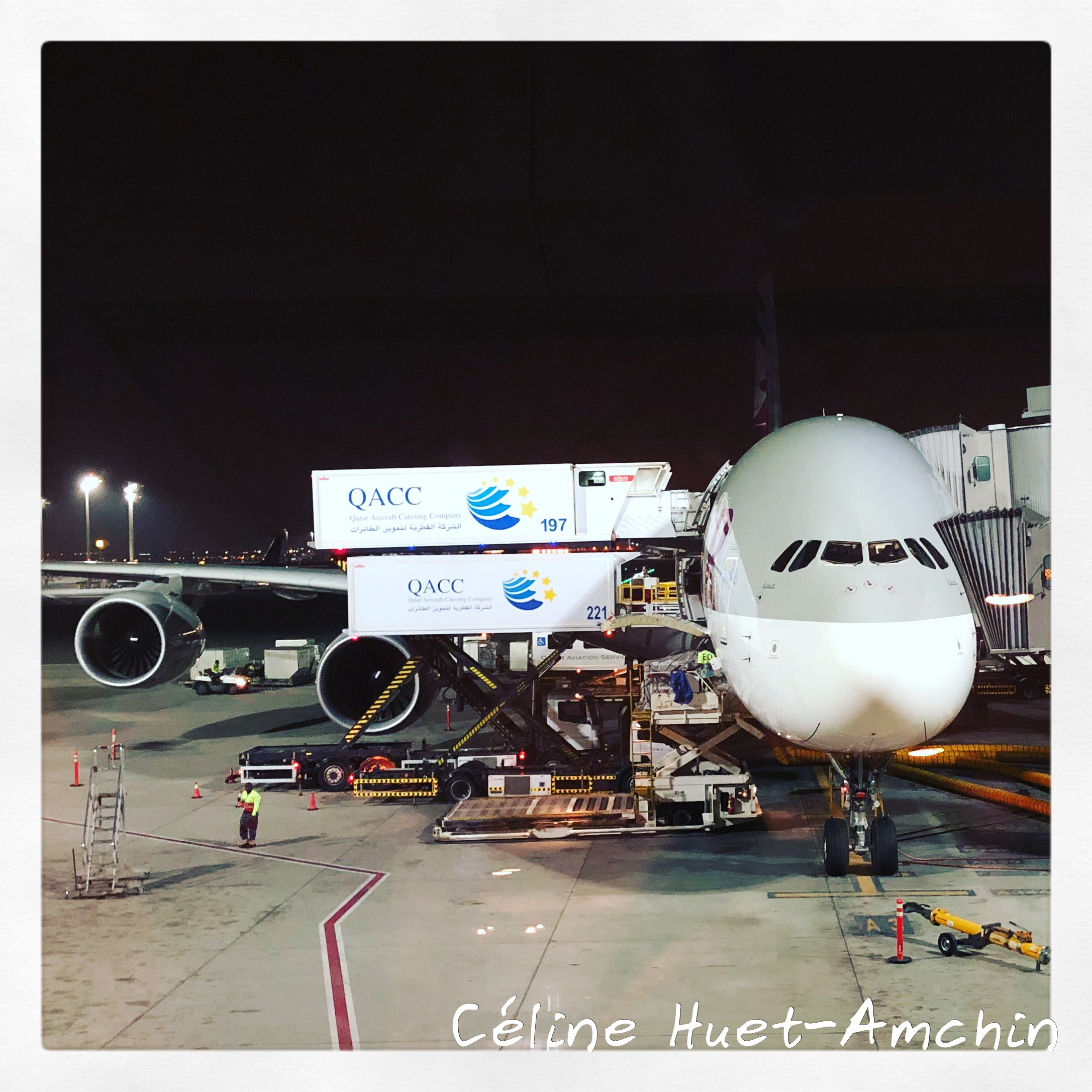 A380 Qatar Airways Doha Bangkok