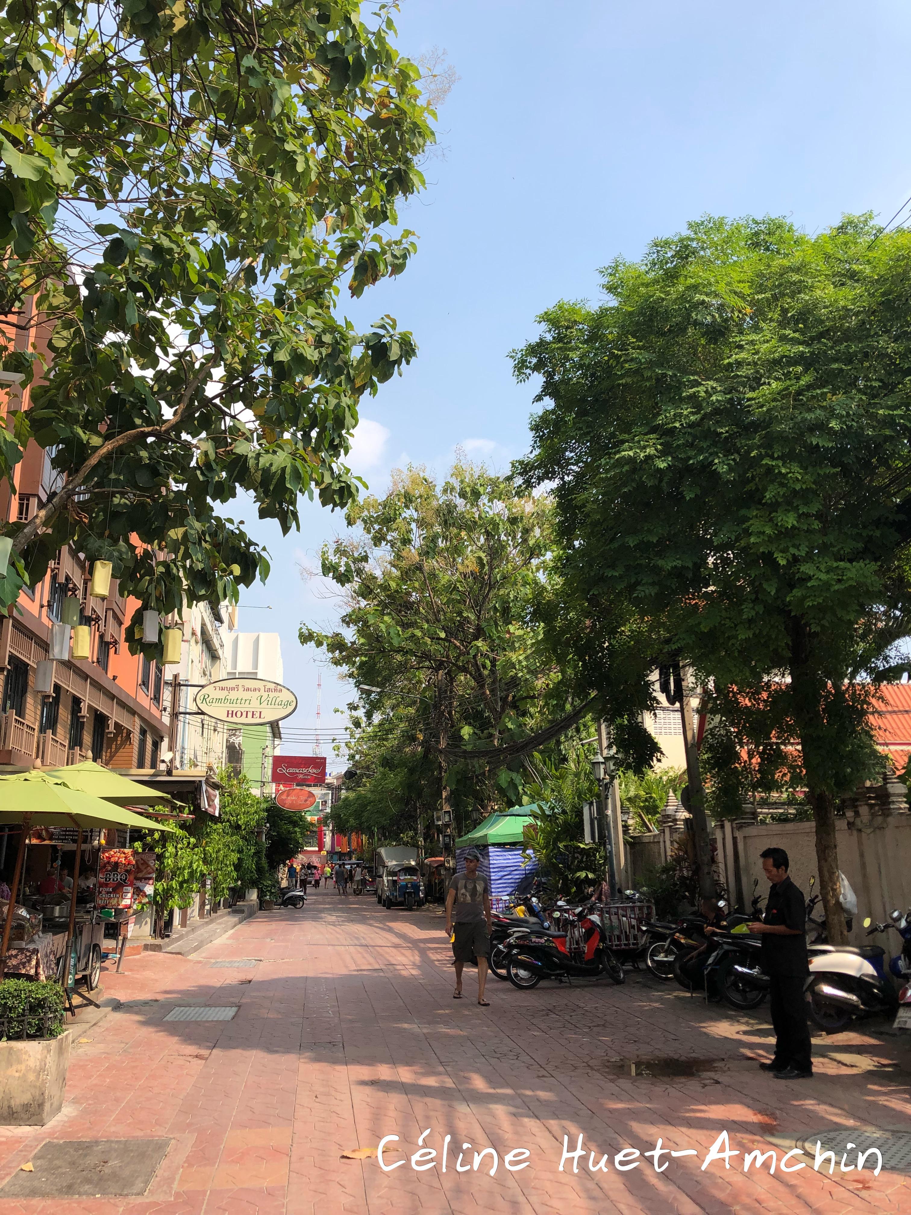 Khao San Bangkok Thaïlande Asie