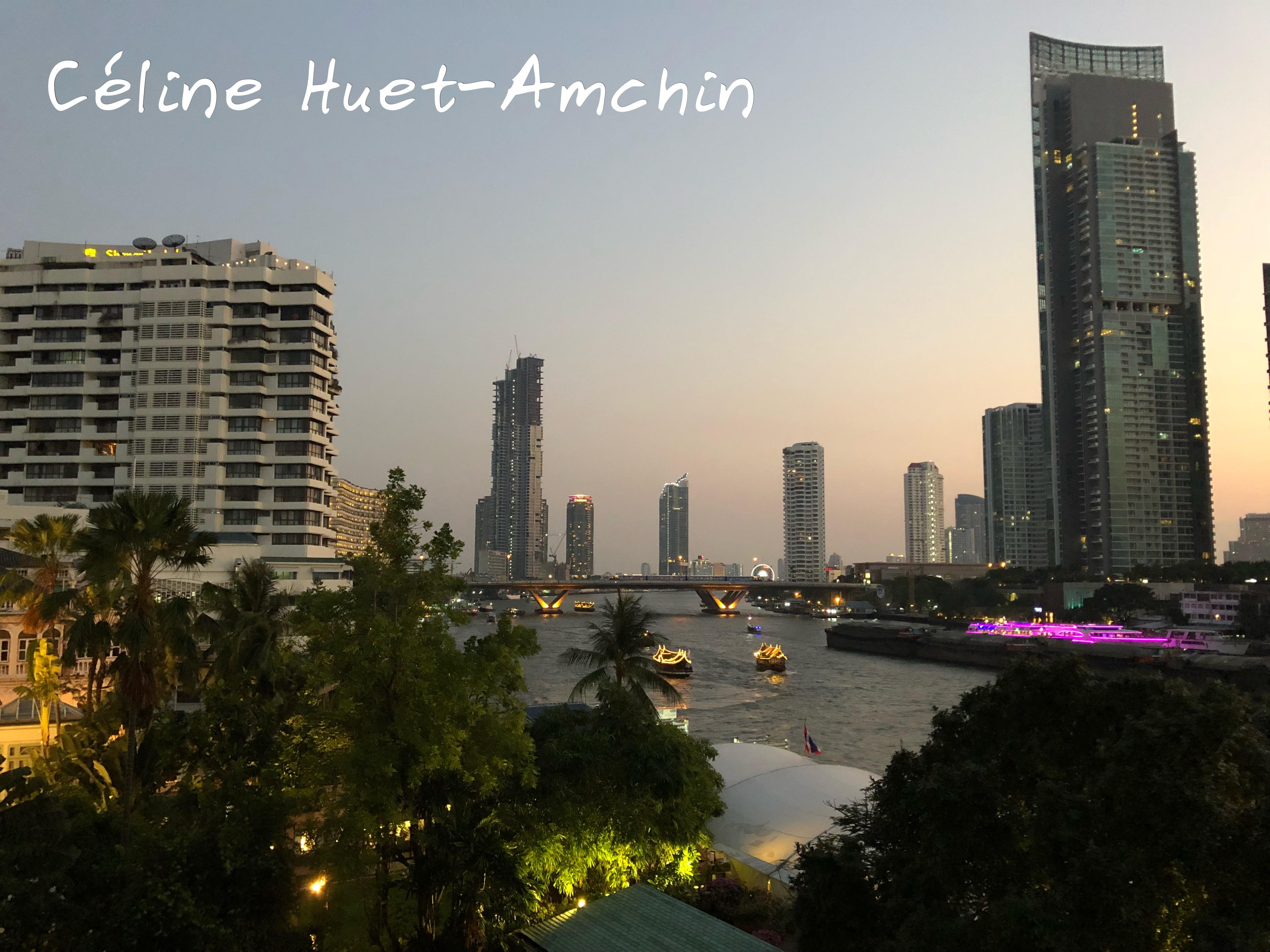 Twilight Bangkok Thaïlande Asie