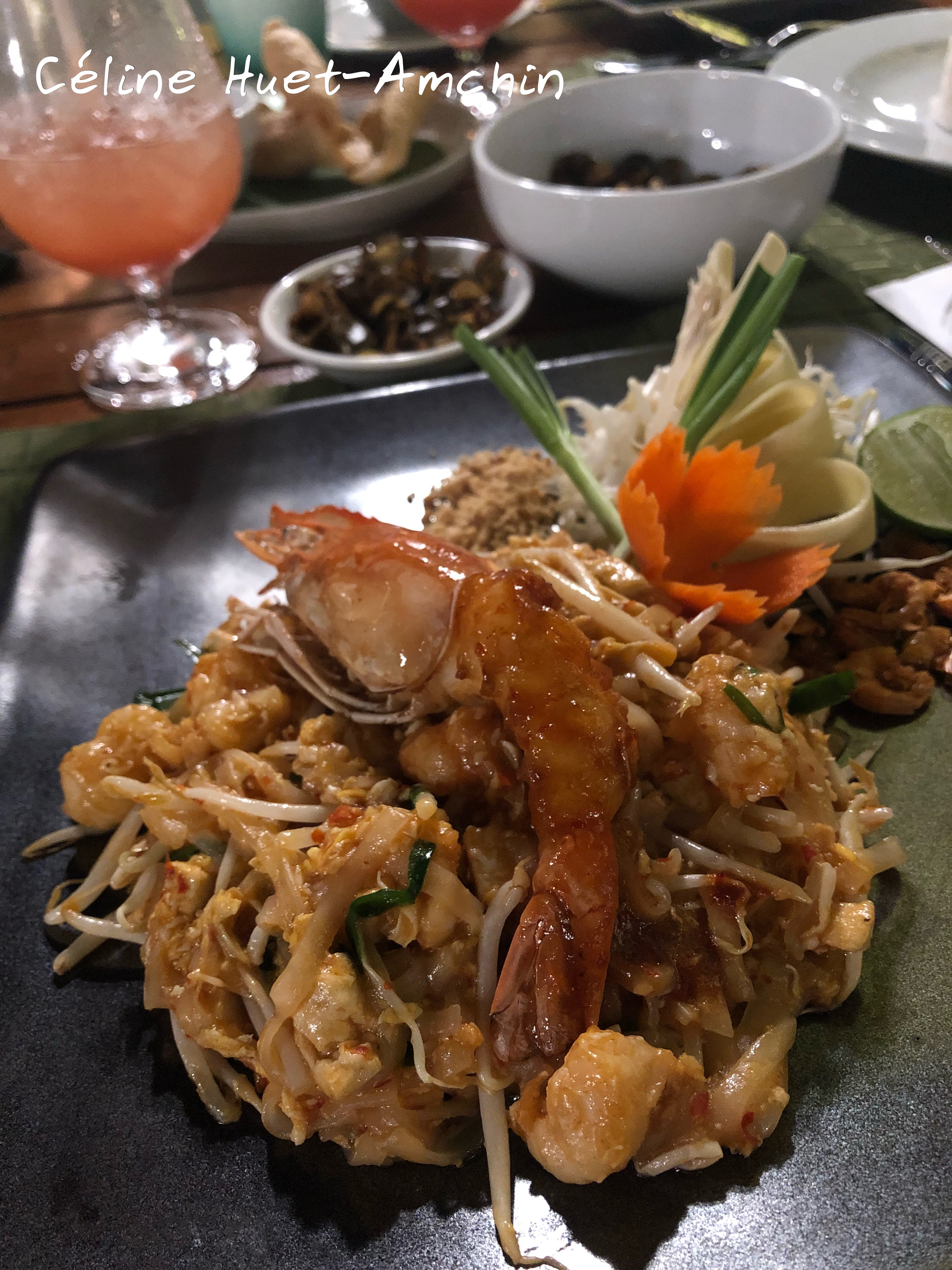 Pad Thaï Bangkok Thaïlande Asie