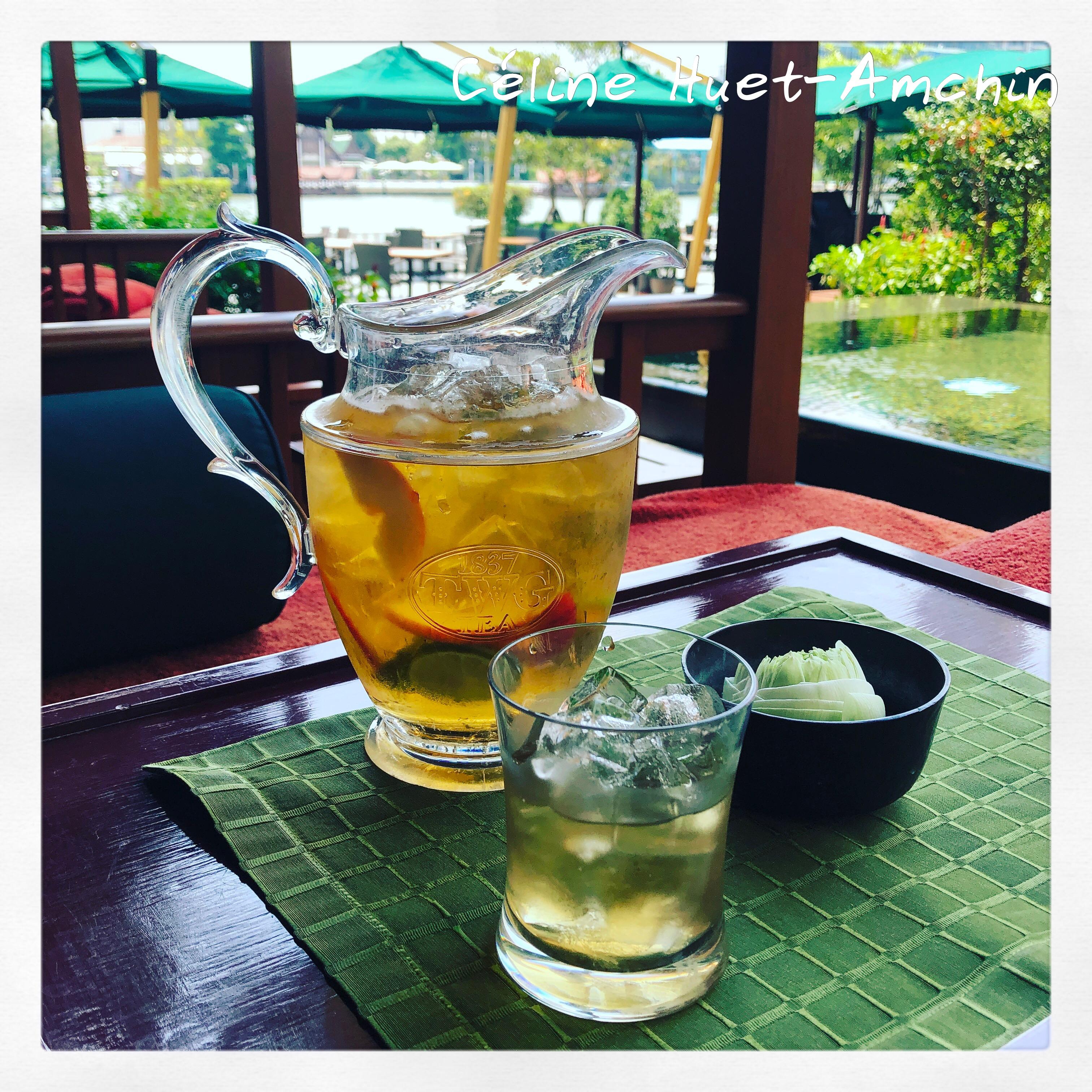 Thé TWG Mandarin Oriental Bangkok Thaïlande Asie