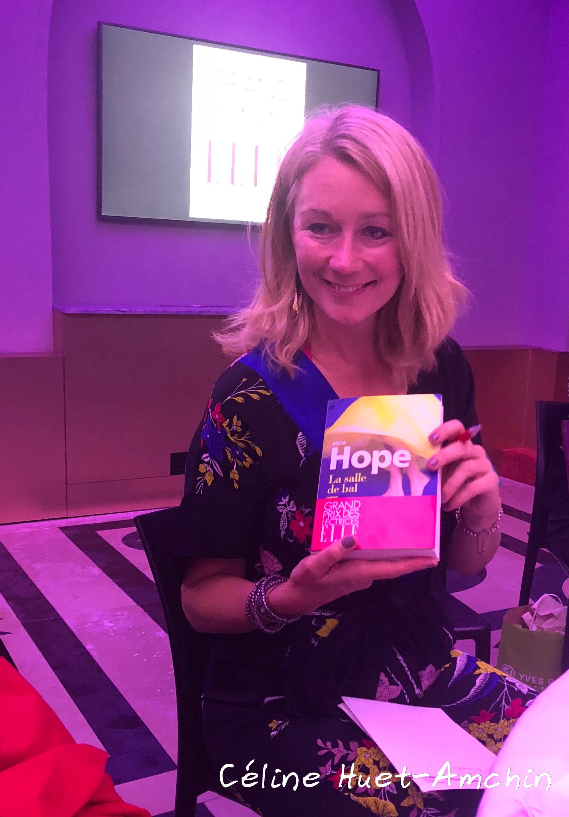 Anna Hope Grand Prix des Lectrices ELLE 2018