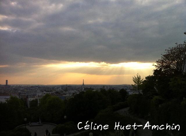 Paris vu du Parc de Belleville