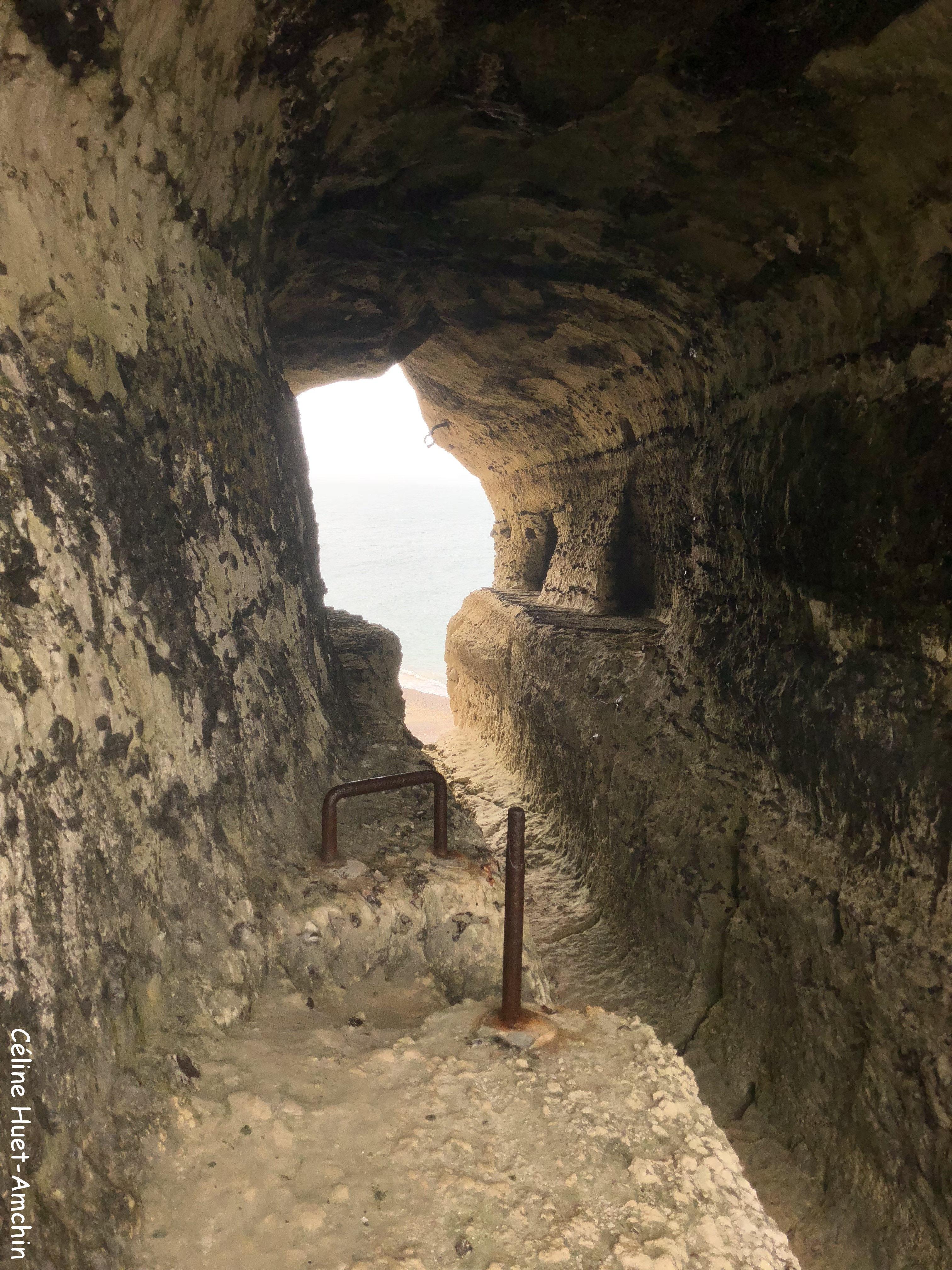 Entre la Valleuse de Valaine et la Plage du Tilleul Etretat Normandie