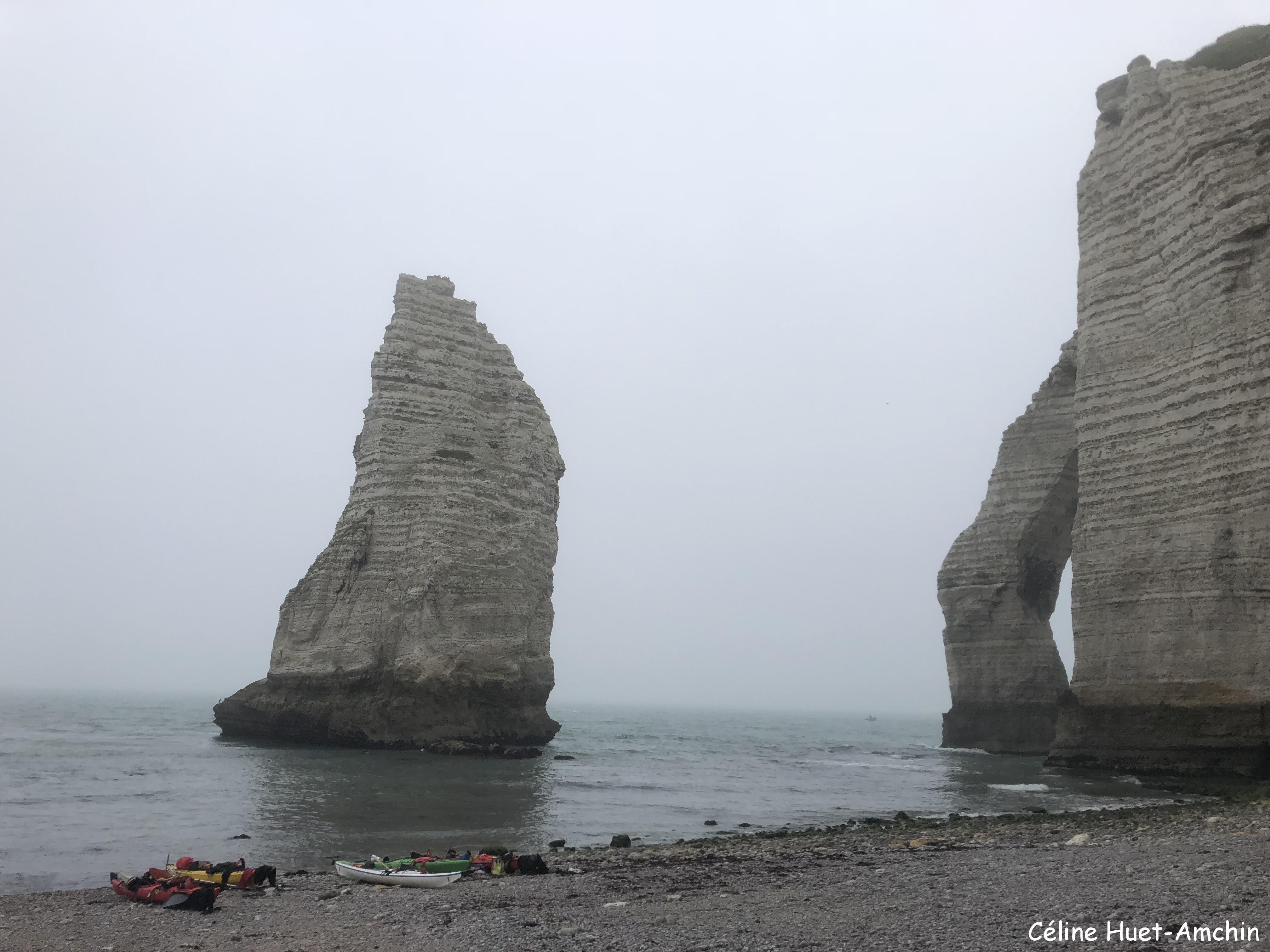 L'Aiguille et la Porte d'Aval Etretat Normandie