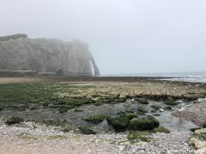 La Plage du Perrey et La Porte d'Aval Etretat Normandie